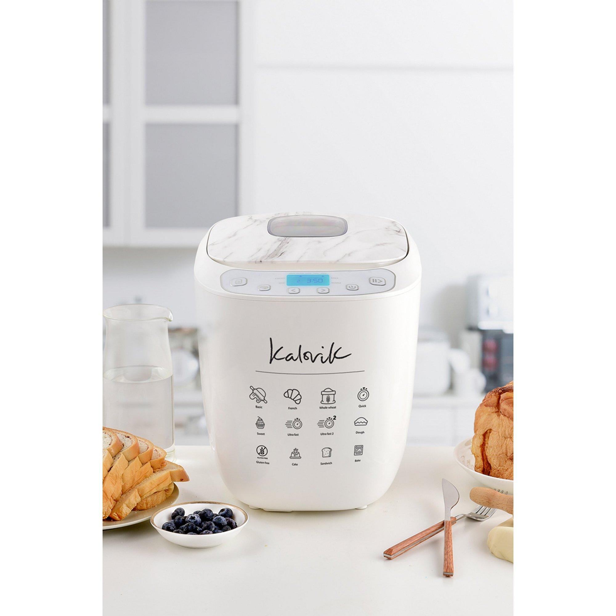 Image of Kalorik 2LB Marble Accent Breadmaker