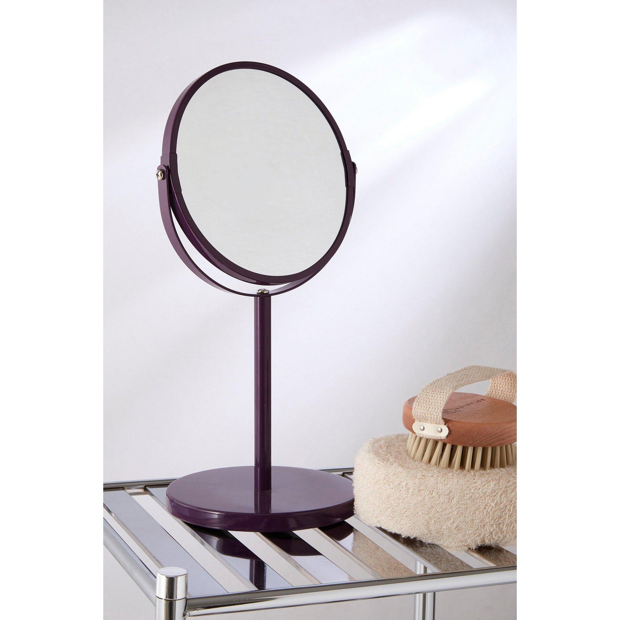 Image of Purple Swivel Mirror