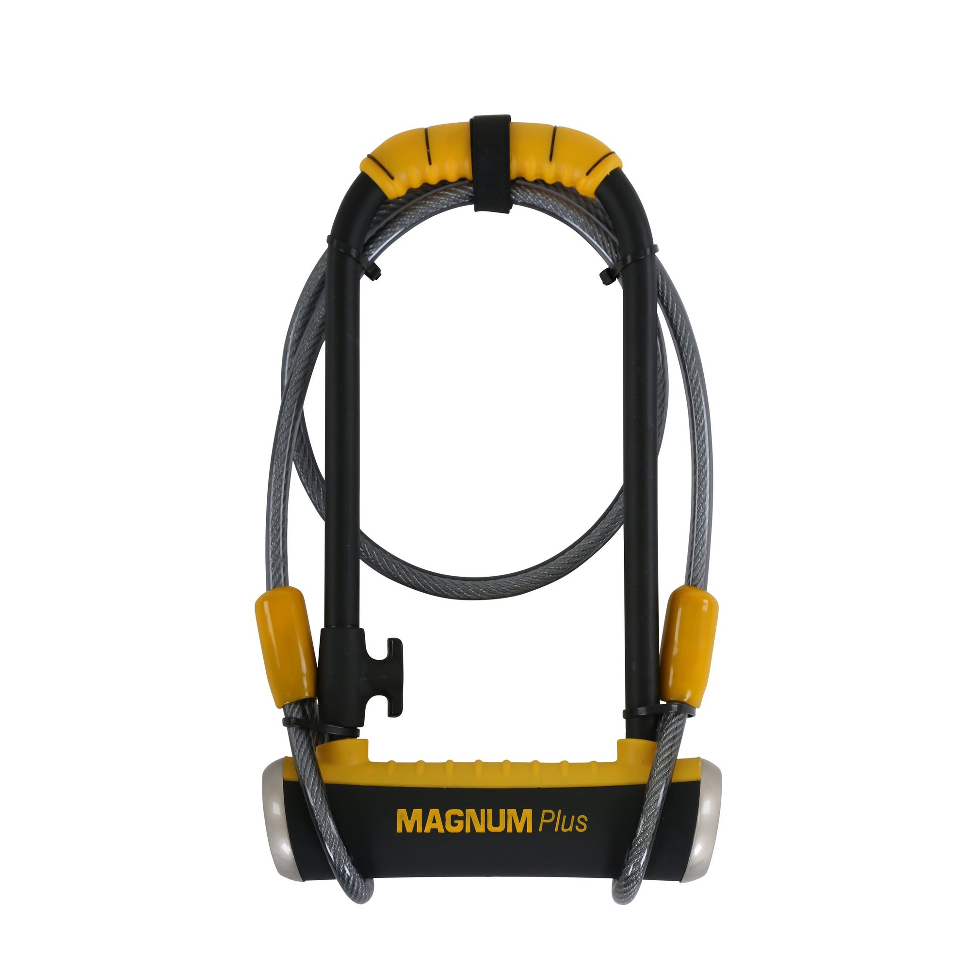 Image of Magnum Plus MagSolid Shackle Key Lock - 115 x 230 x 14mm with Cable