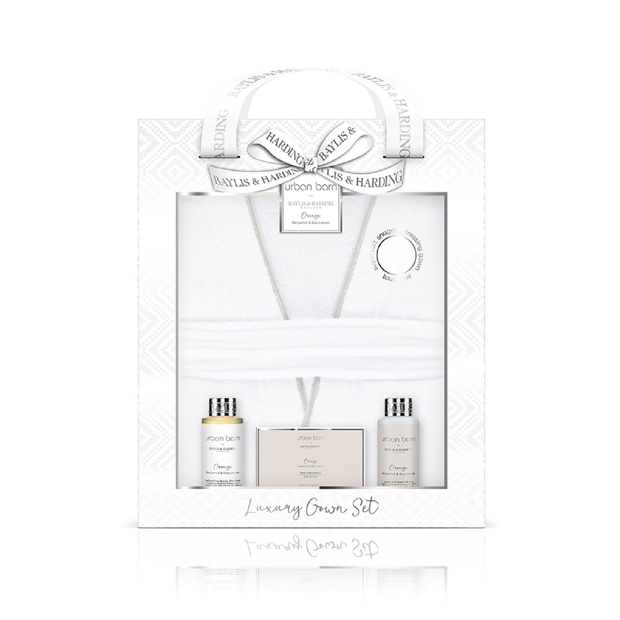Image of Baylis and Harding Luxury Robe Bath + Body Gift Set