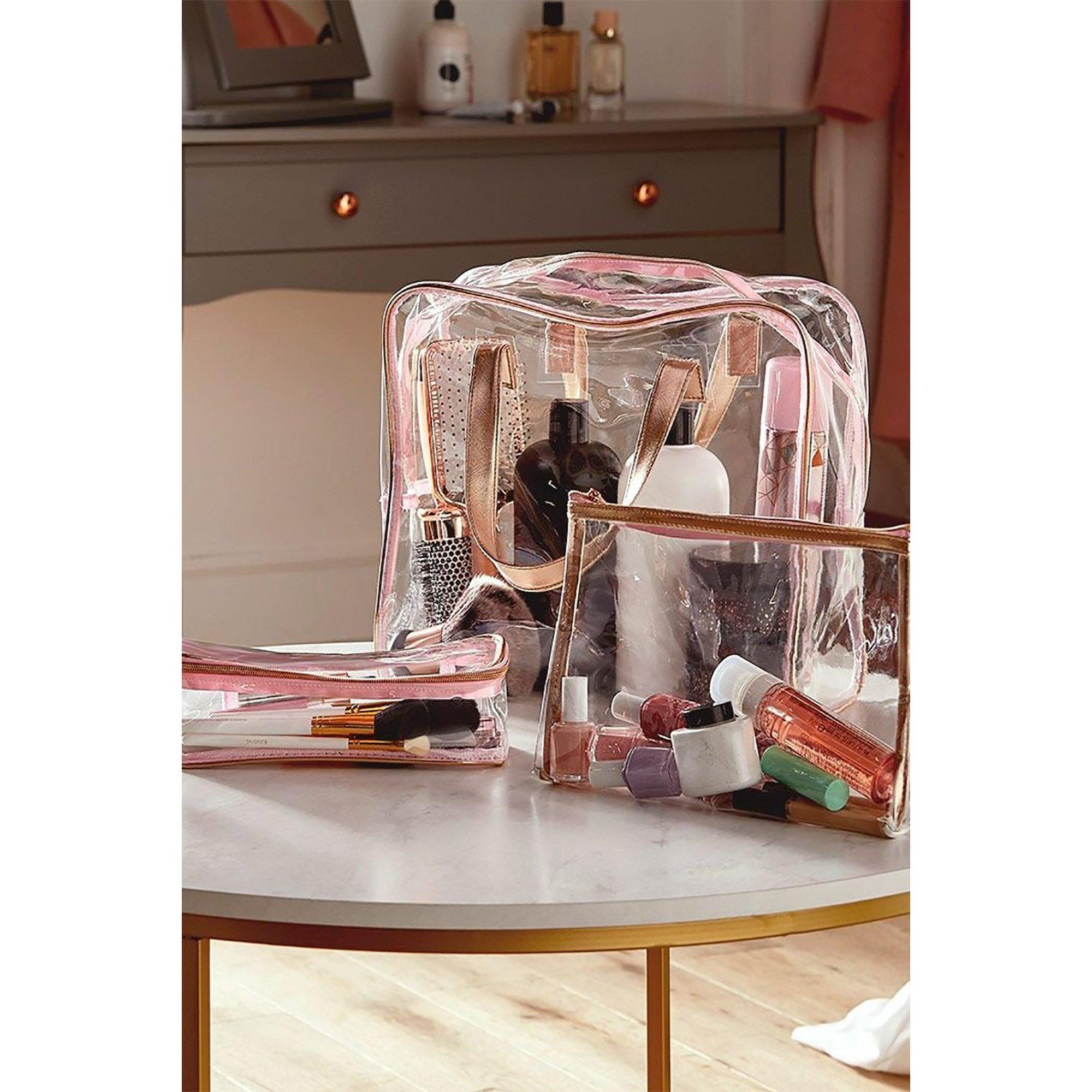 Image of Beautify PVC Vanity and Make Up Bag Set