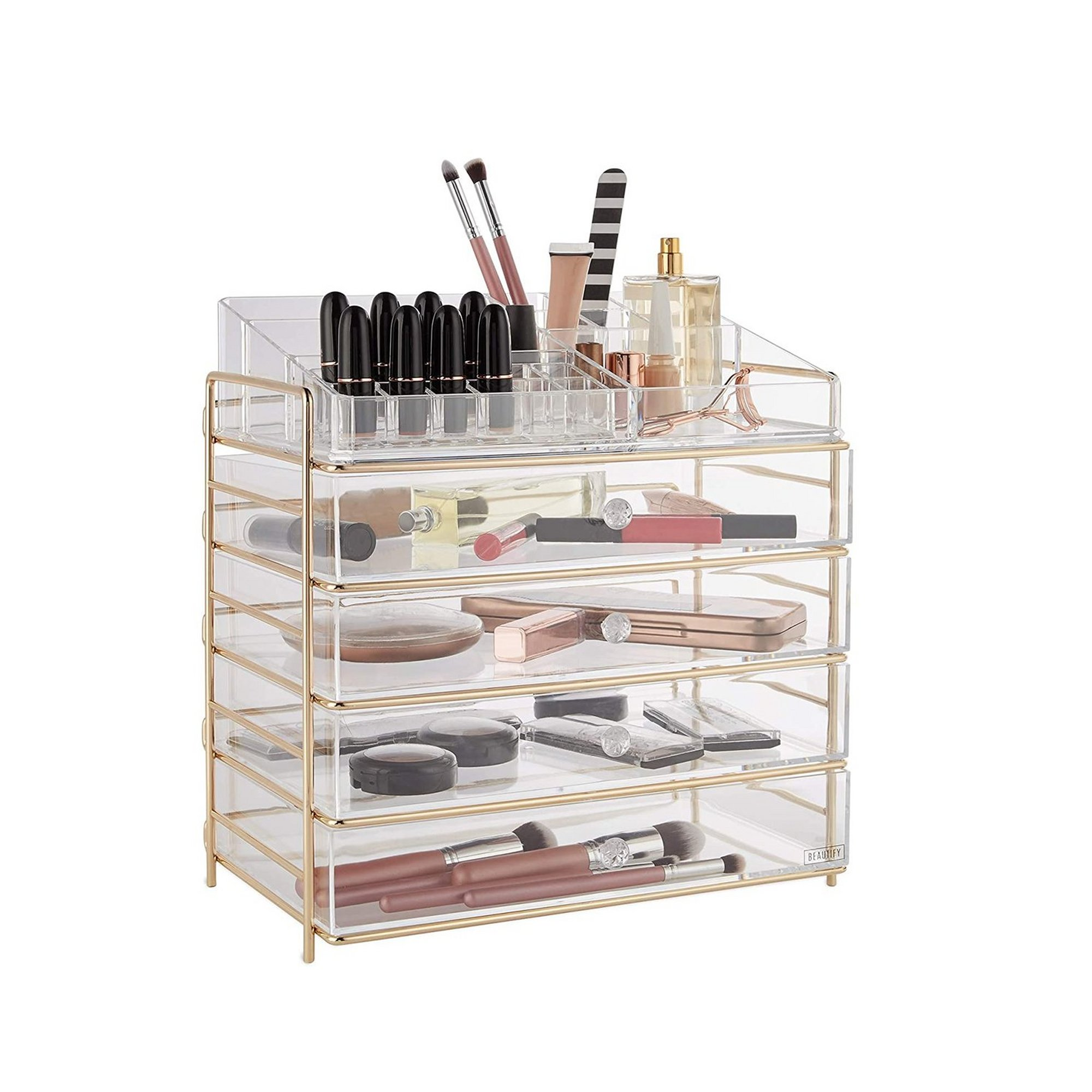 Image of Beautify 5 Tier Cosmetic Organiser