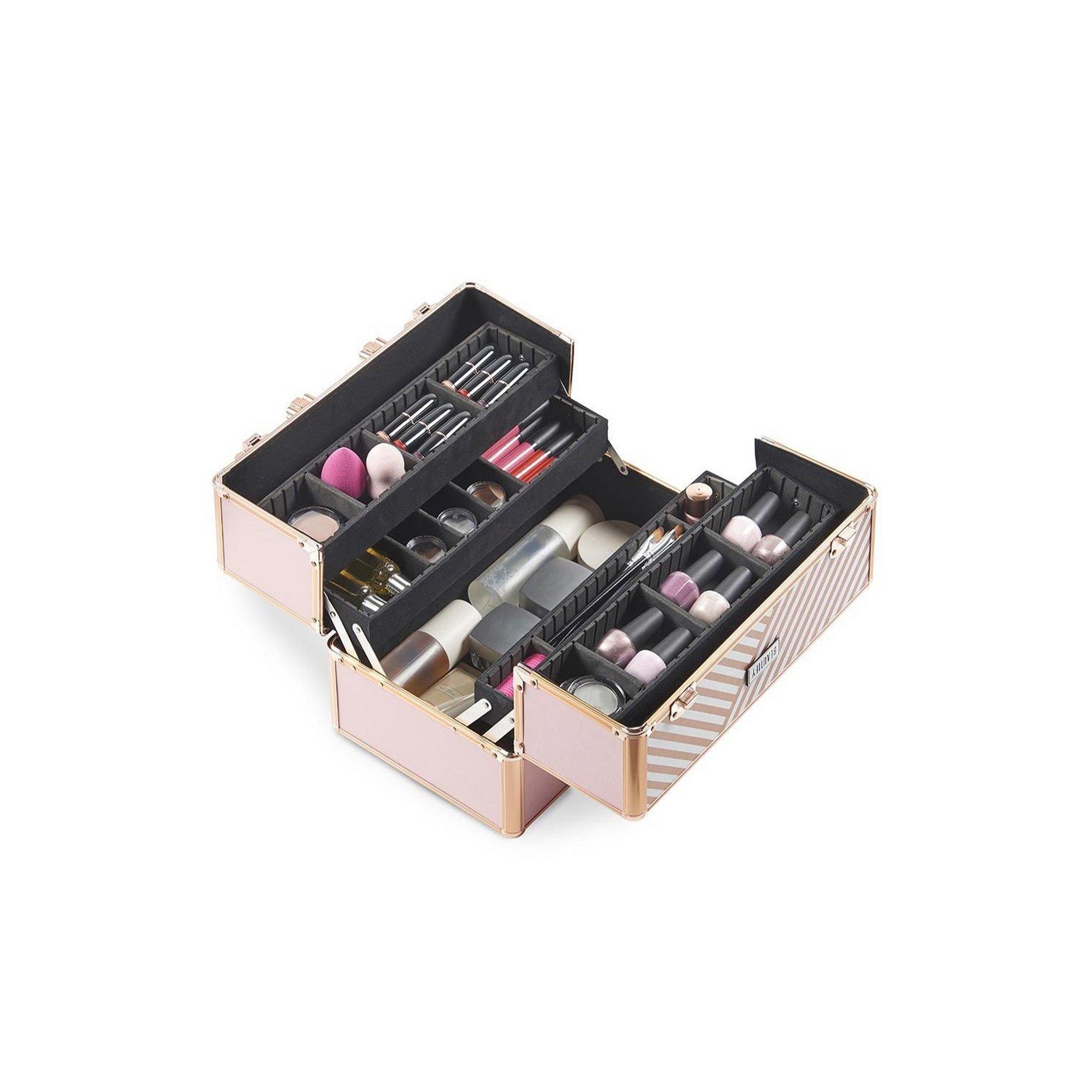 Image of Beautify Large Blush Pink Make Up Case