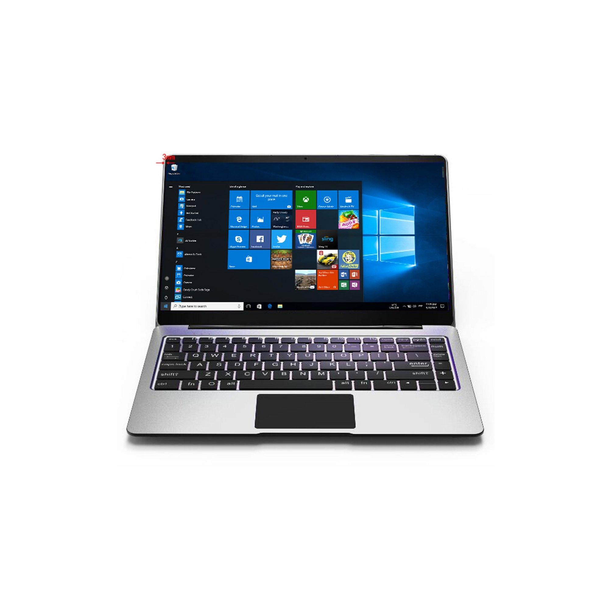 Image of Bocconi V146X 14.1 Inch Metal Windows 10 256GB Laptop + Free 32GB...