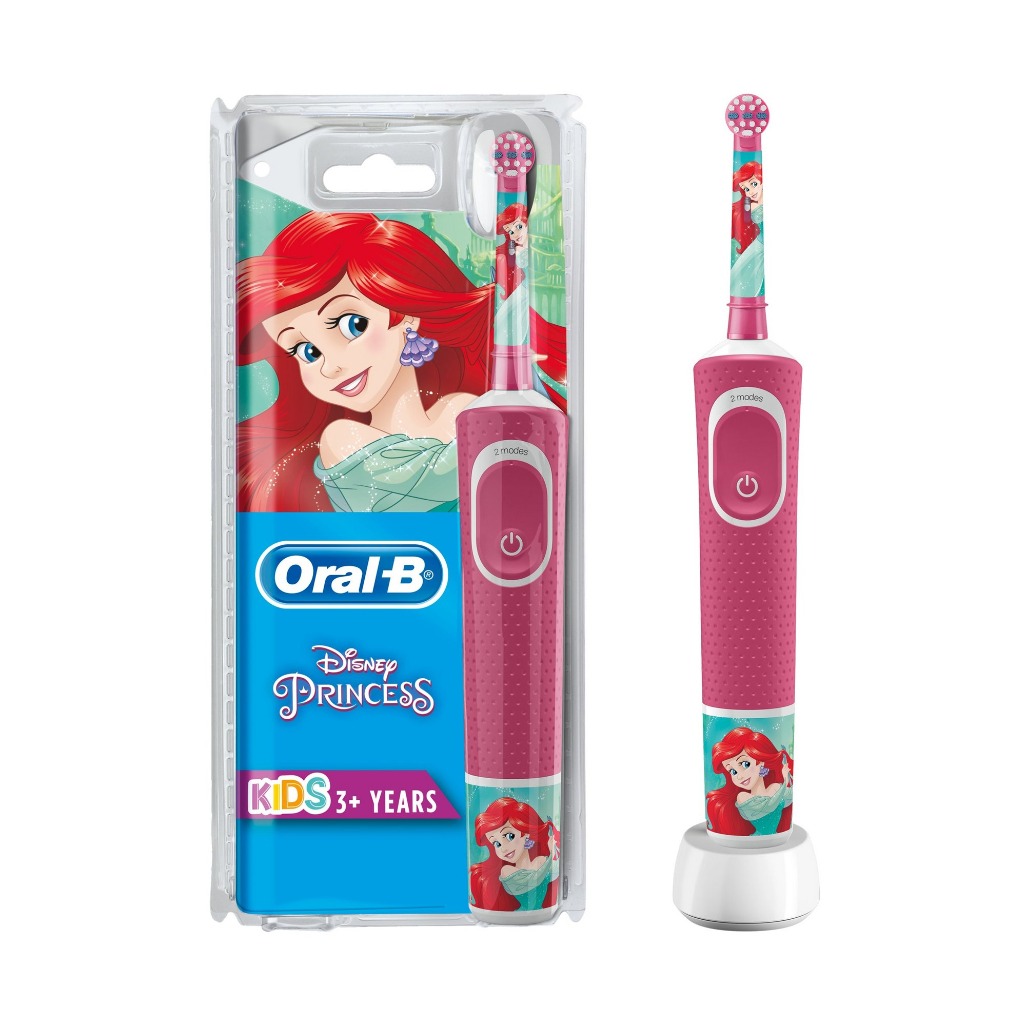 Image of Oral B Disney Kids Princess Rechargeable Toothbrush