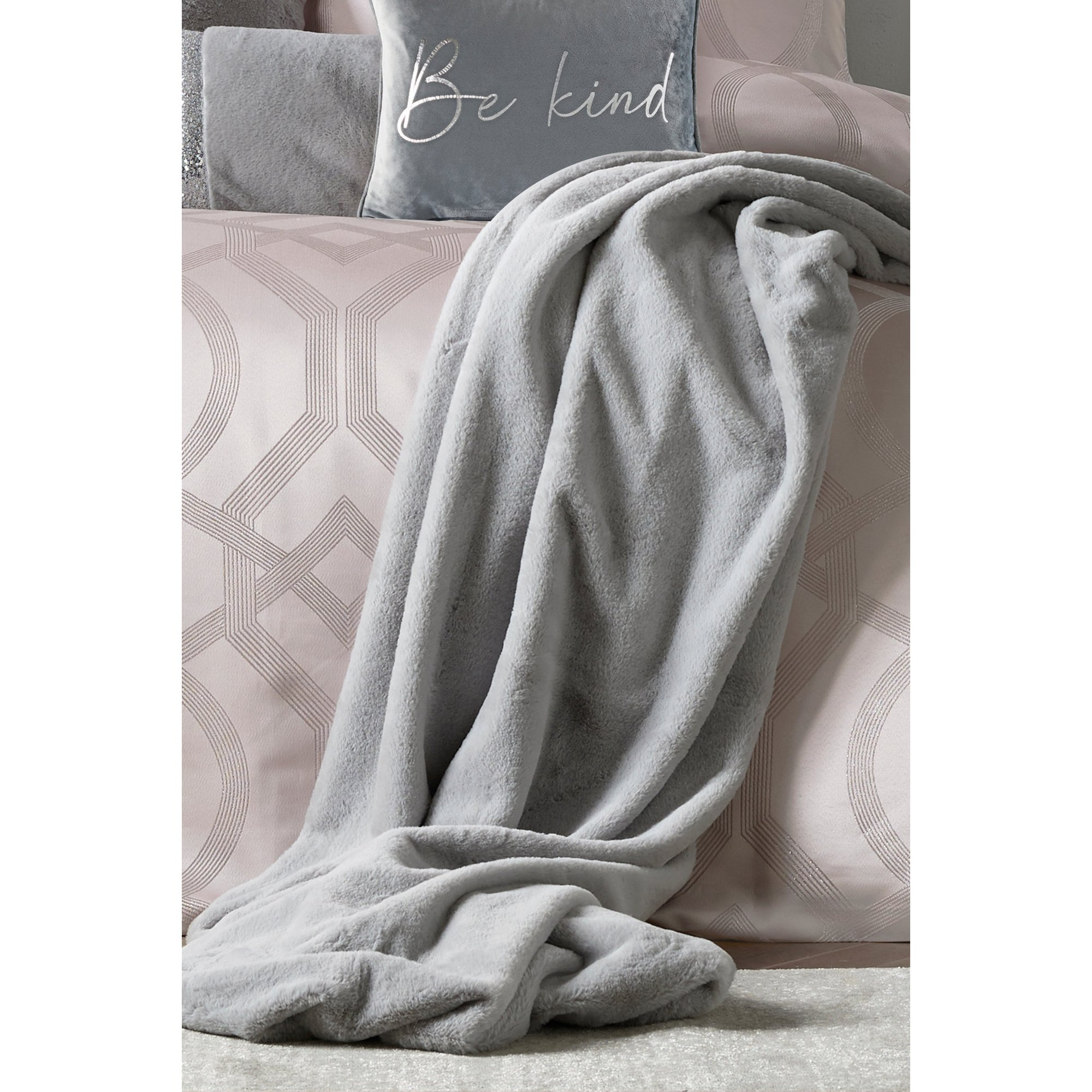 Image of Caprice Ava Silver Throw