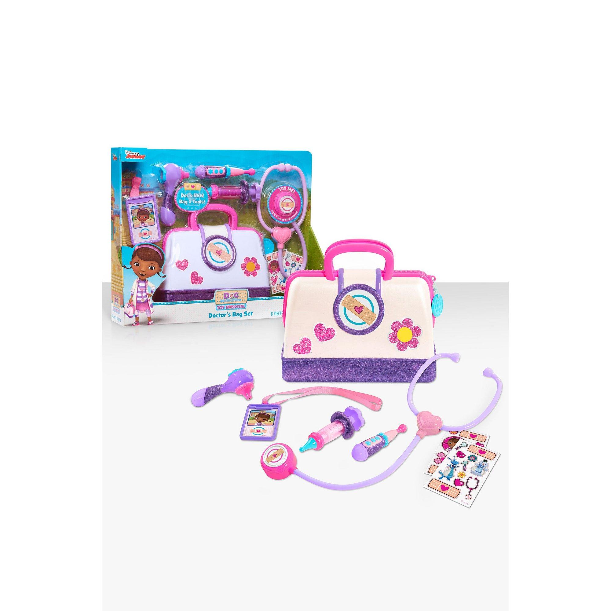 Image of Doc McStuffins Toy Hospital Doctors Bag Set