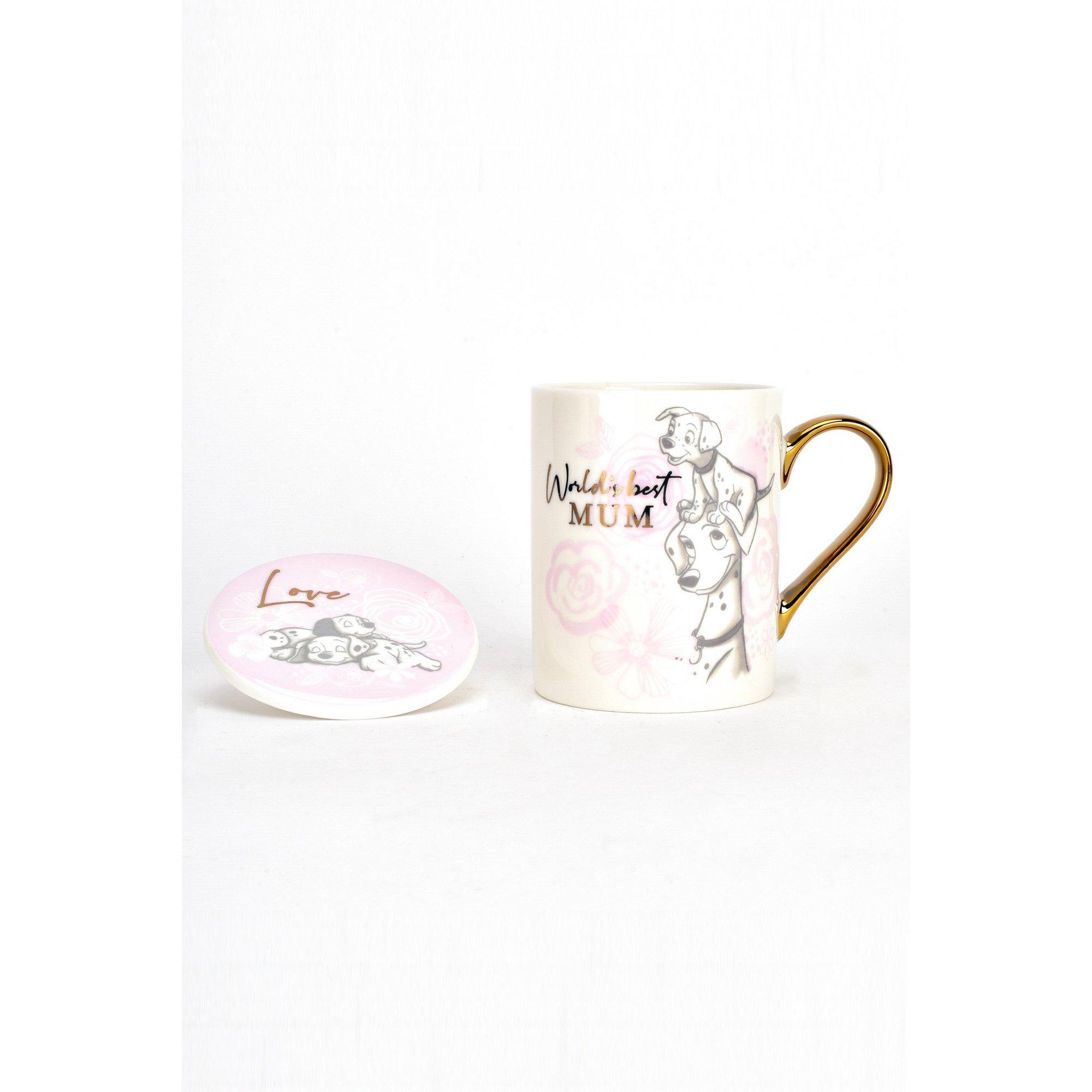 Image of Disney 101 Dalmatians Mum Mug and Coaster