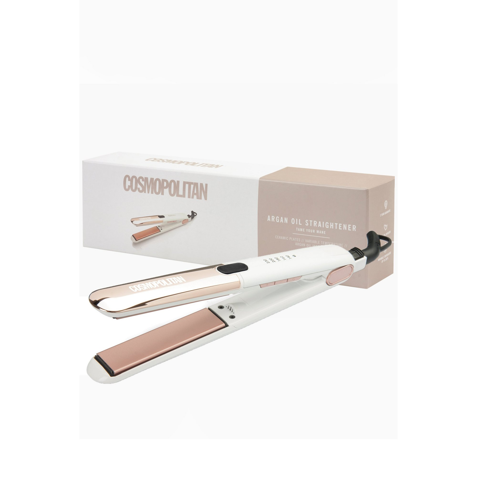 Image of Cosmopolitan Argan Oil Hair Straighteners