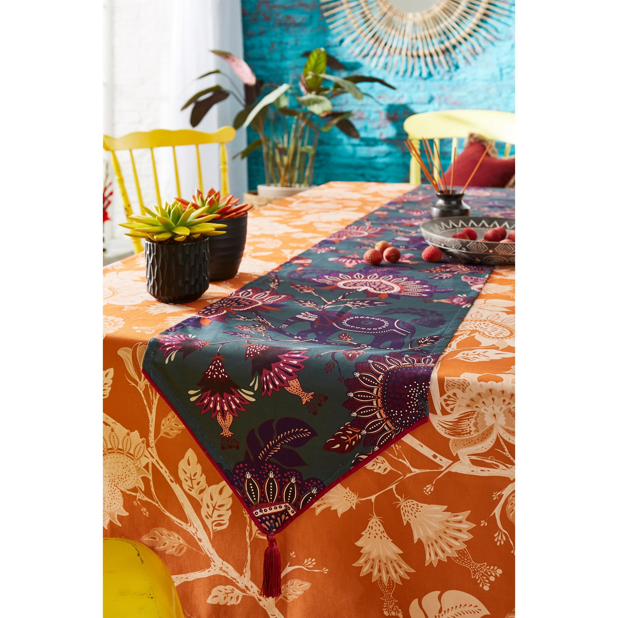 Image of Joe Brown Escape to Africa Table Runner