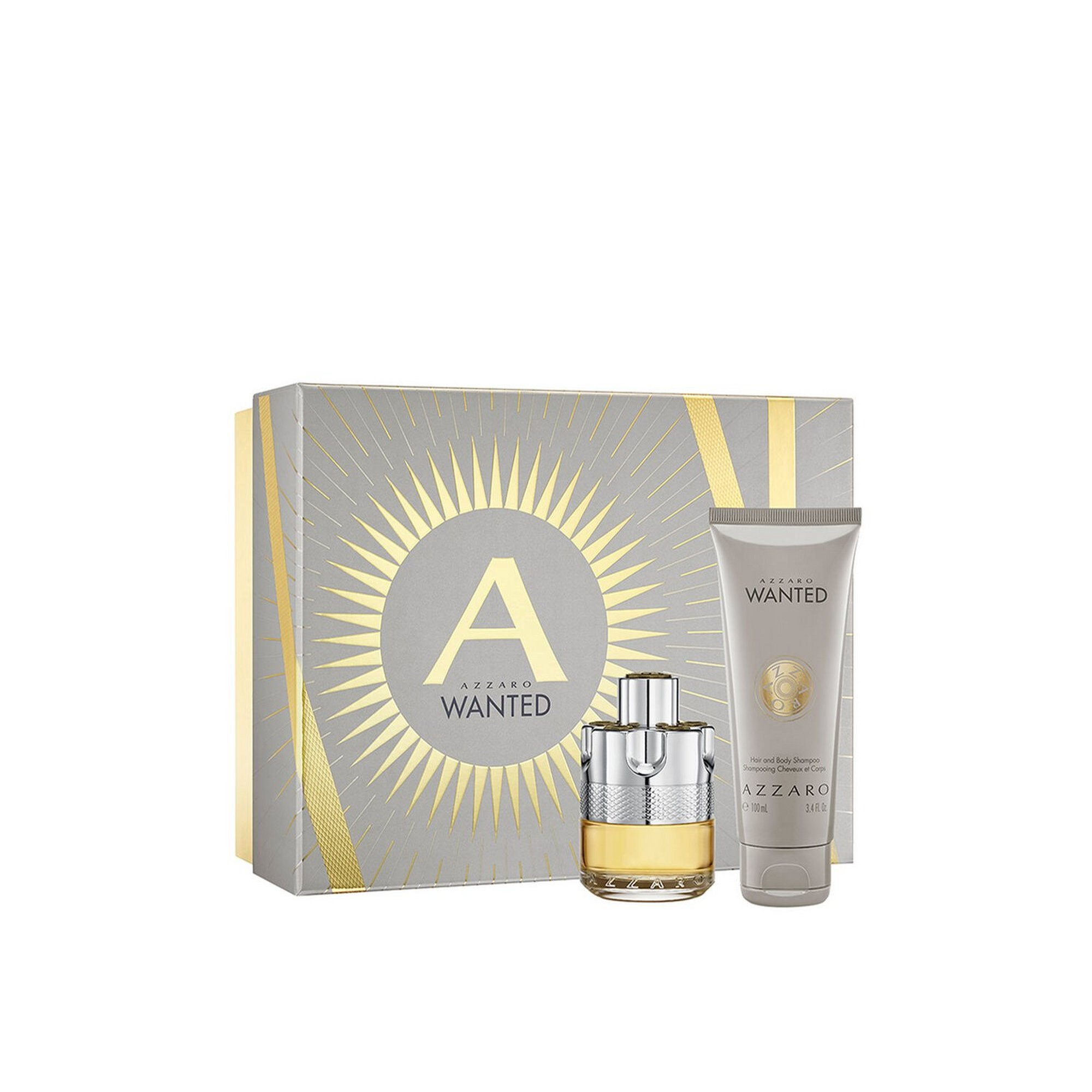 Image of Azzaro Wanted 50ml EDT Gift Set