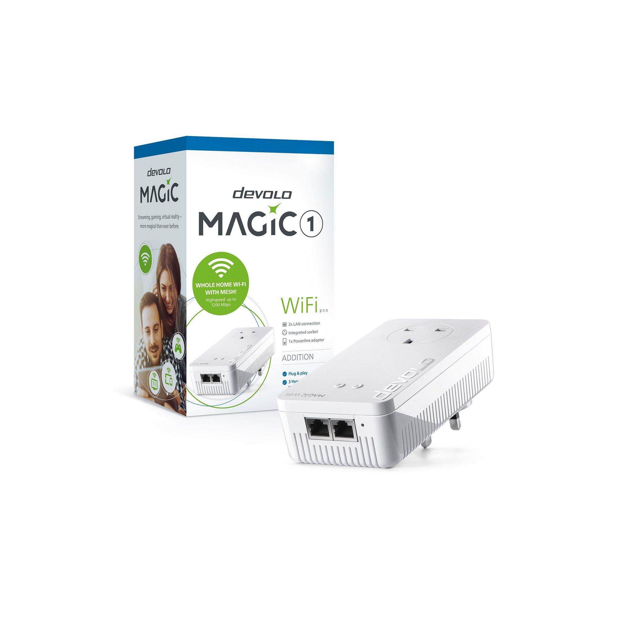 Image of Devolo Magic 1 1200 WiFi Add-On Adapter