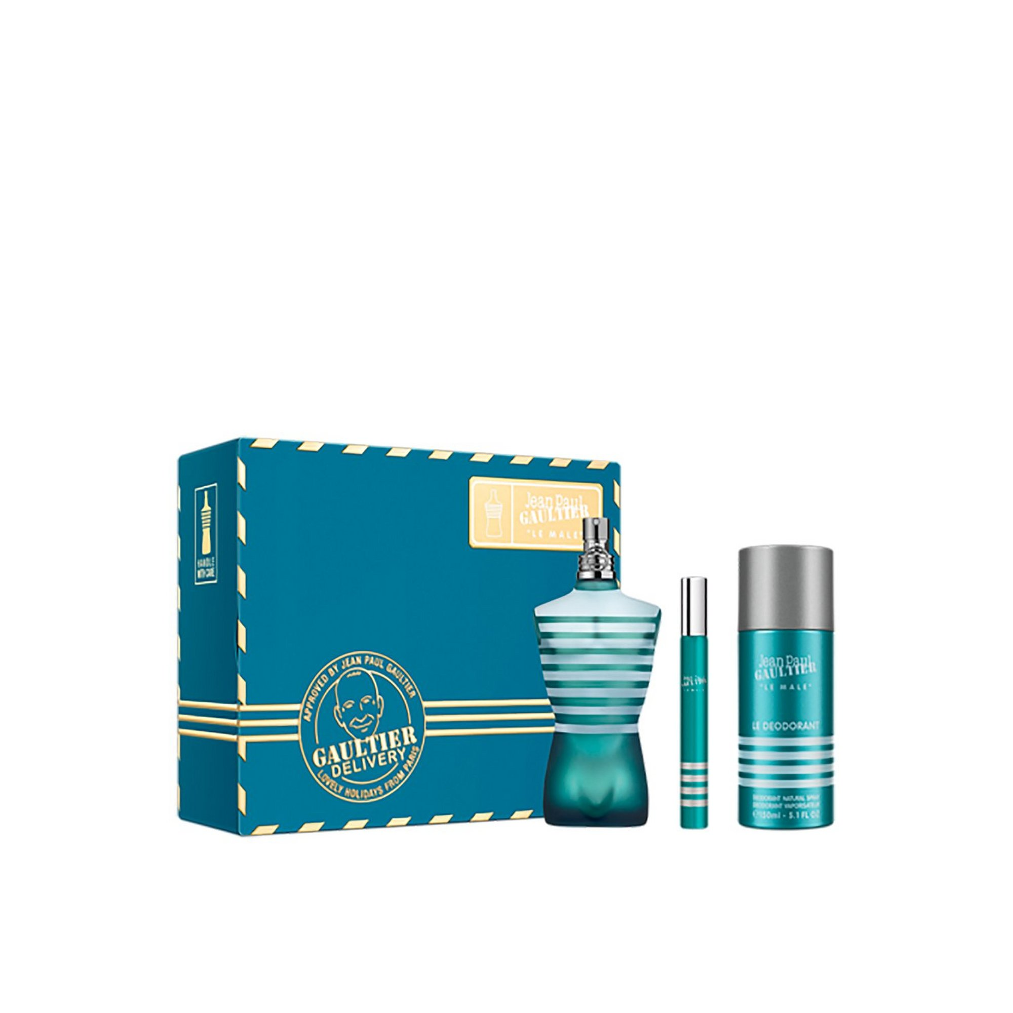 Image of Jean Paul Gaultier Le Male 125ml EDT Gift Set