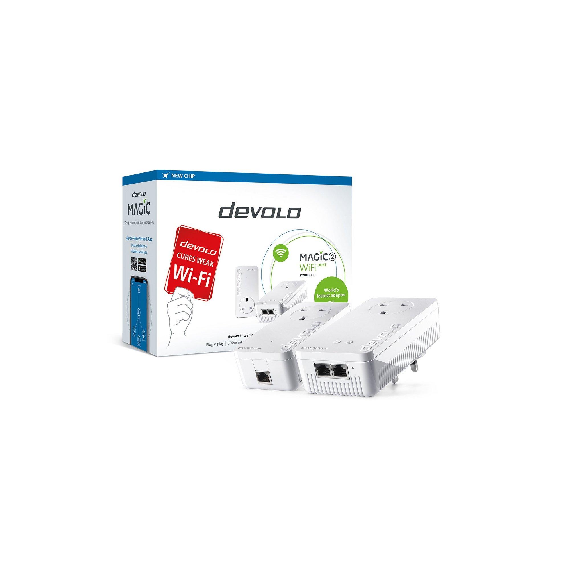 Image of Devolo Magic 2 2400 WiFi NEXT Starter Kit