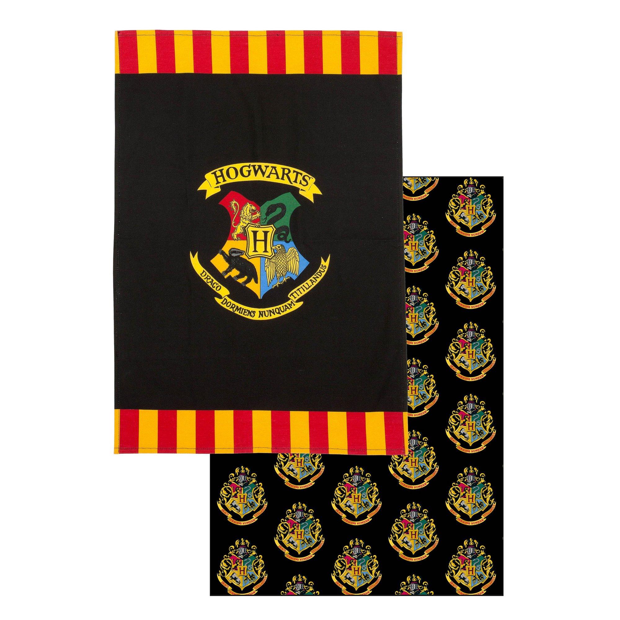 Image of Pack of 2 Harry Potter Hogwarts Tea Towels