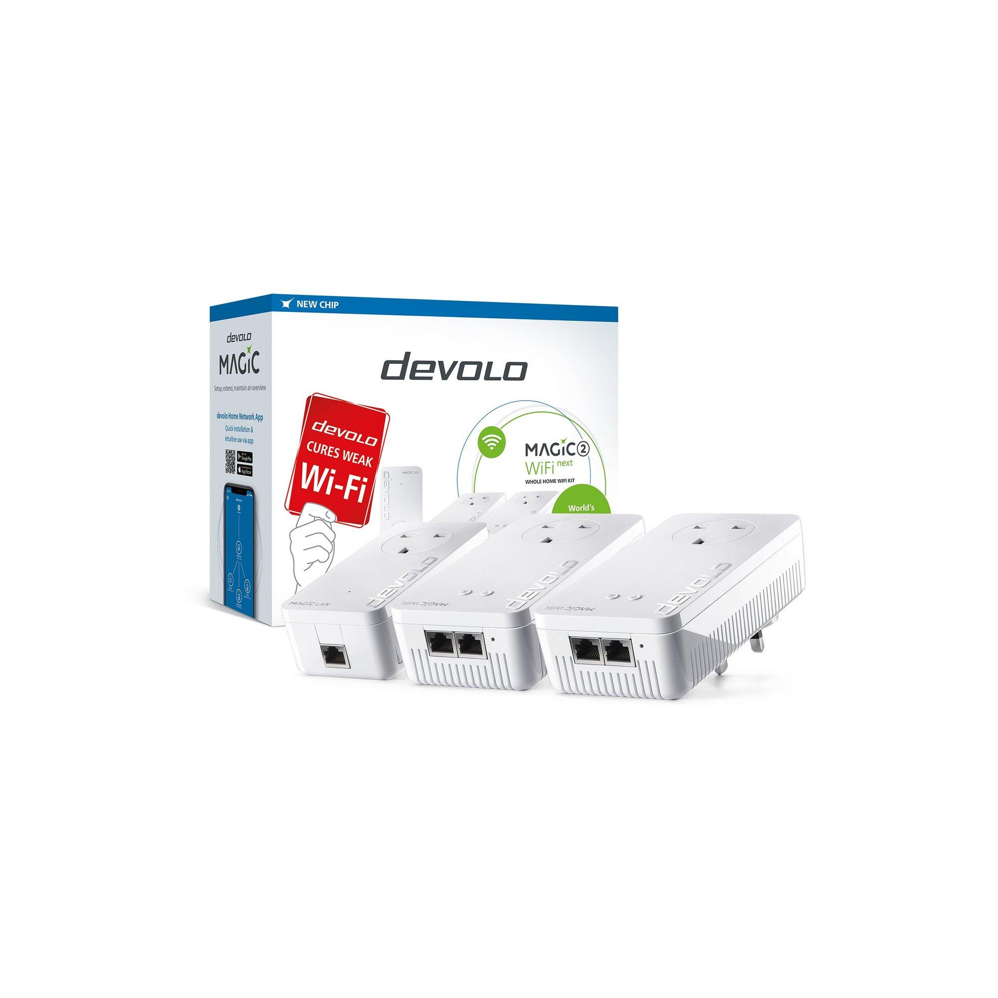 Image of Devolo Magic 2 2400 WiFi NEXT Whole Home WiFi Kit
