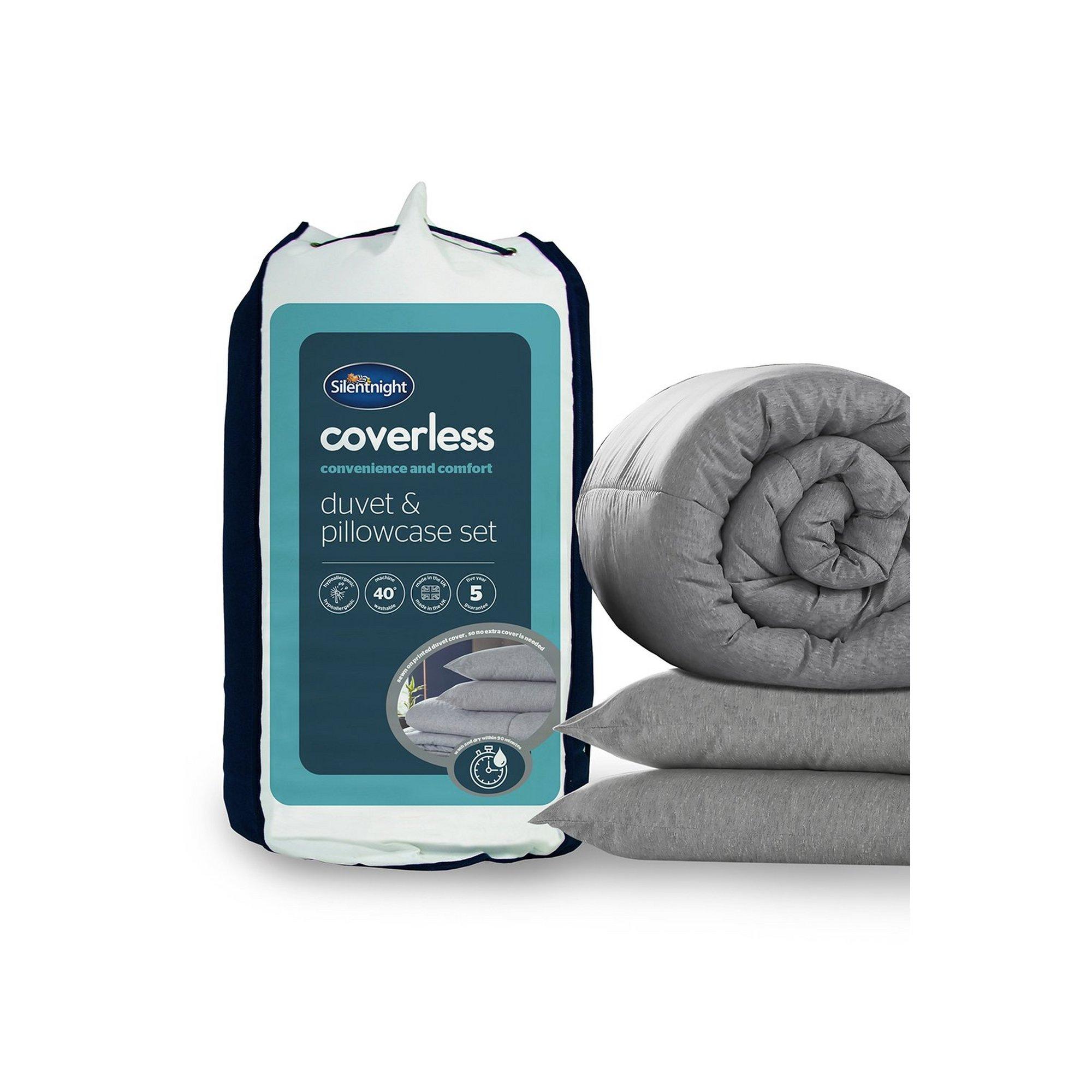 Image of Silentnight Marl Coverless Bed Set