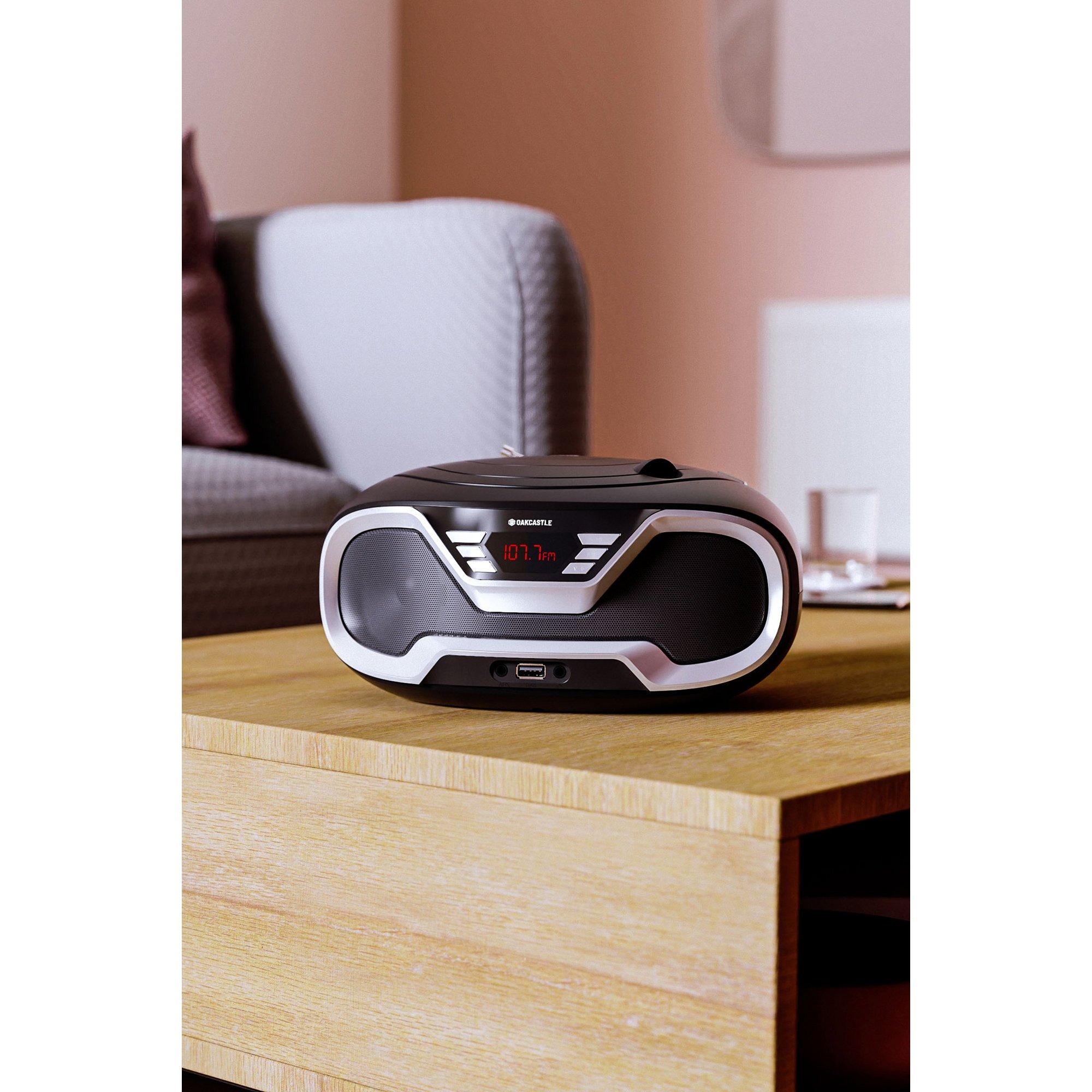 Image of Oakcastle CD200 Bluetooth Boombox UK