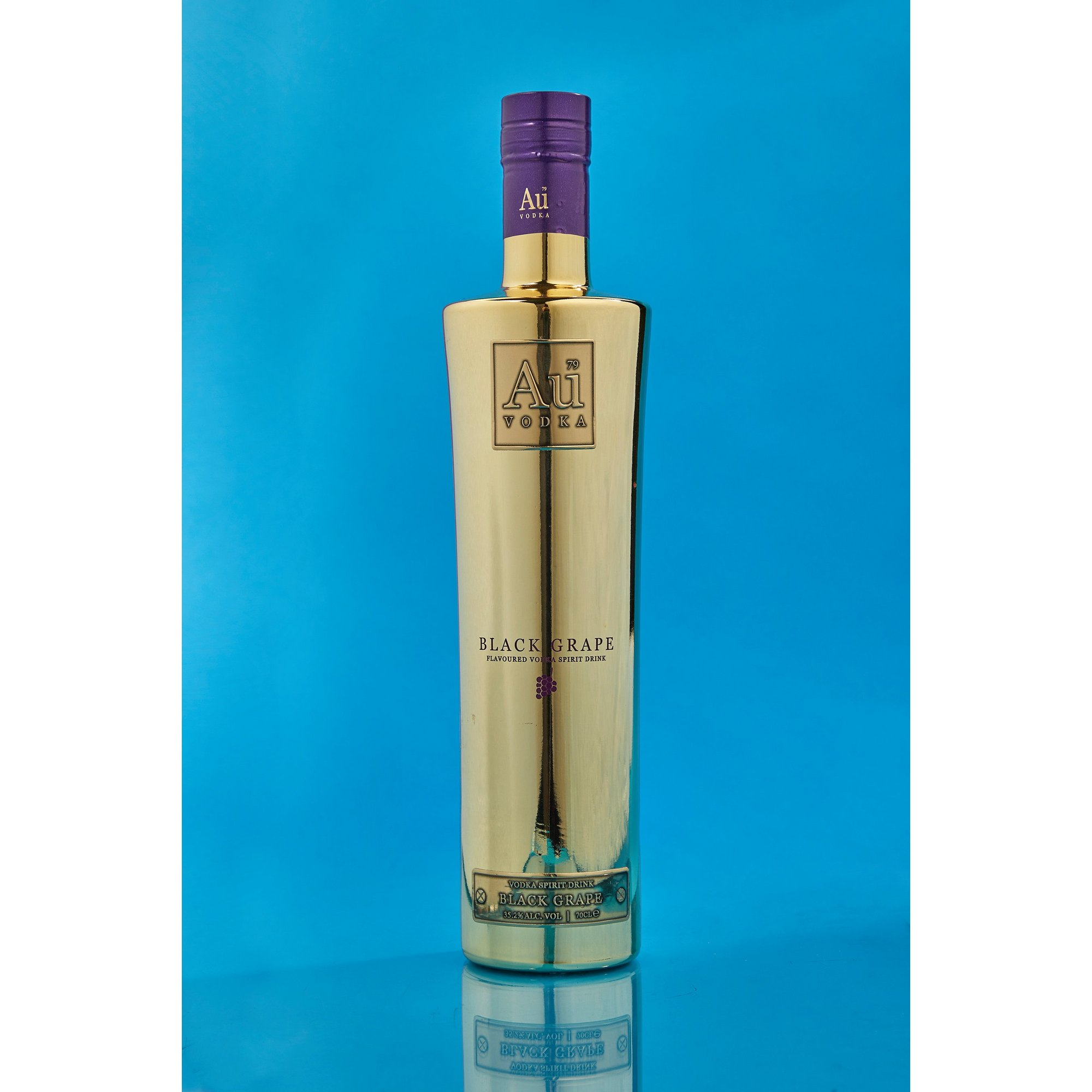 Image of Au Vodka Black Grape 70cl