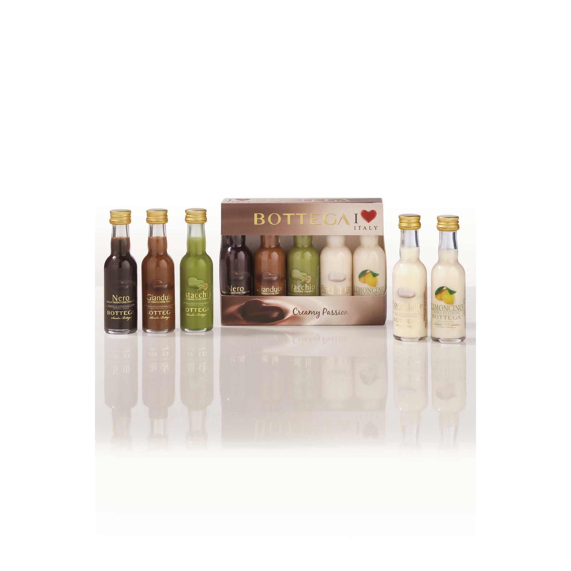 Image of Bottega Creamy Passion Liqueurs Miniature Gift Set