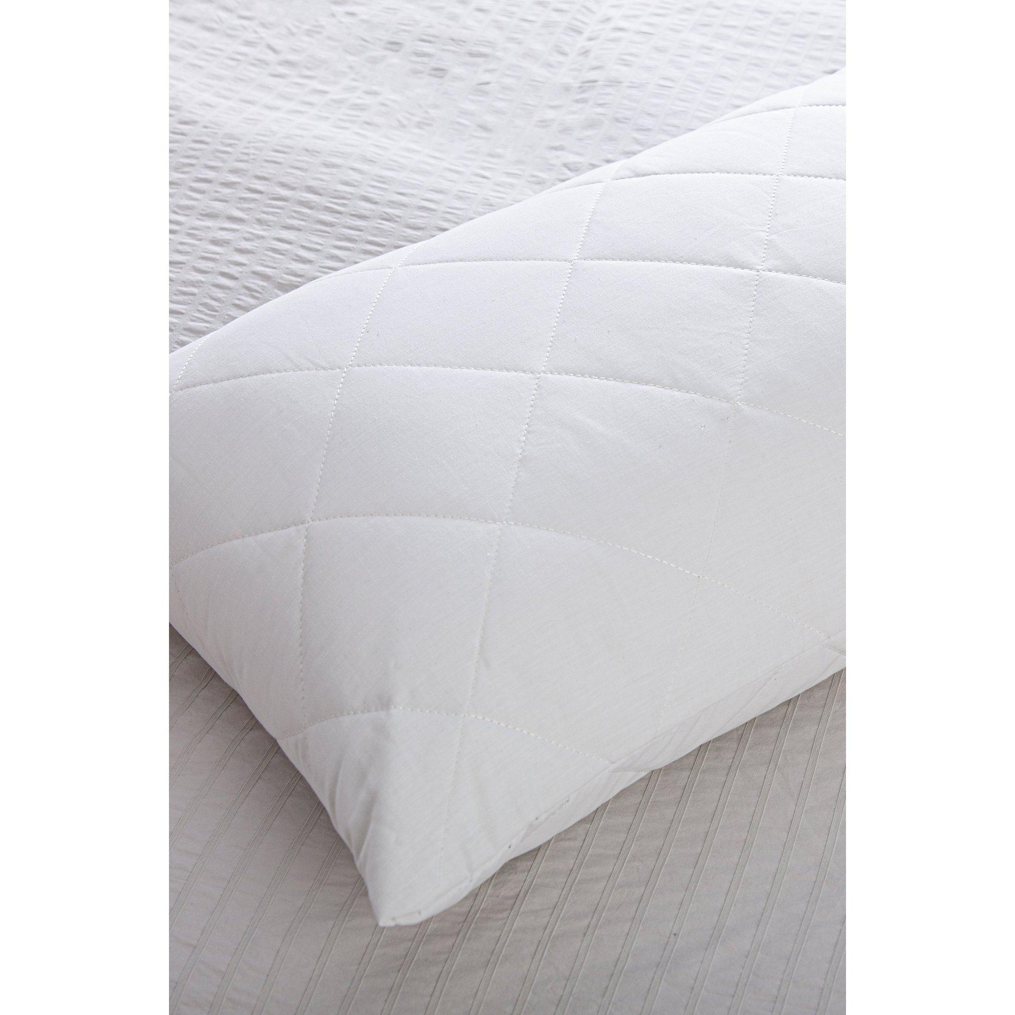 Image of Slumberdown Teflon Pair of Pillow Protectors