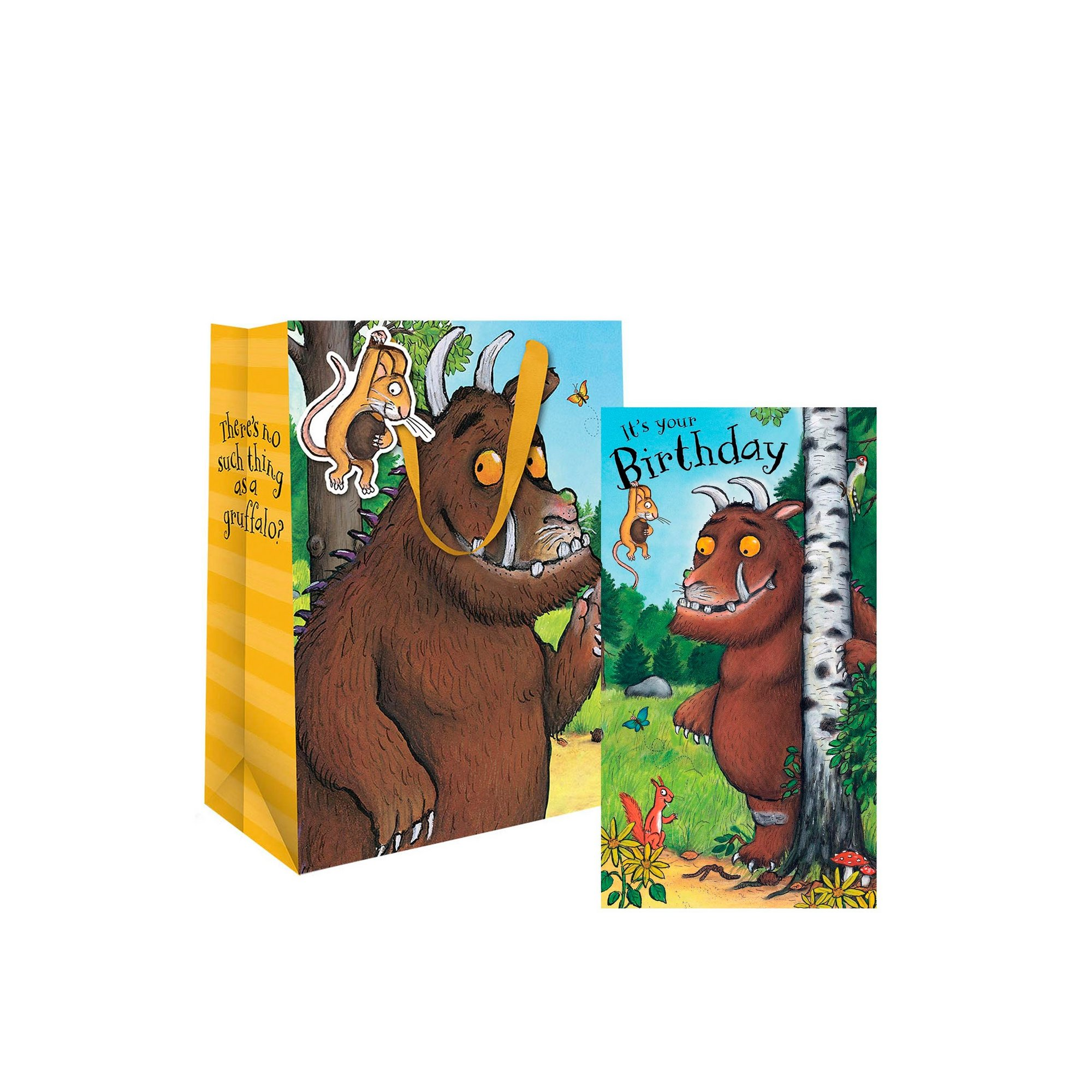 Image of Gruffalo Birthday Card and Gift Bag