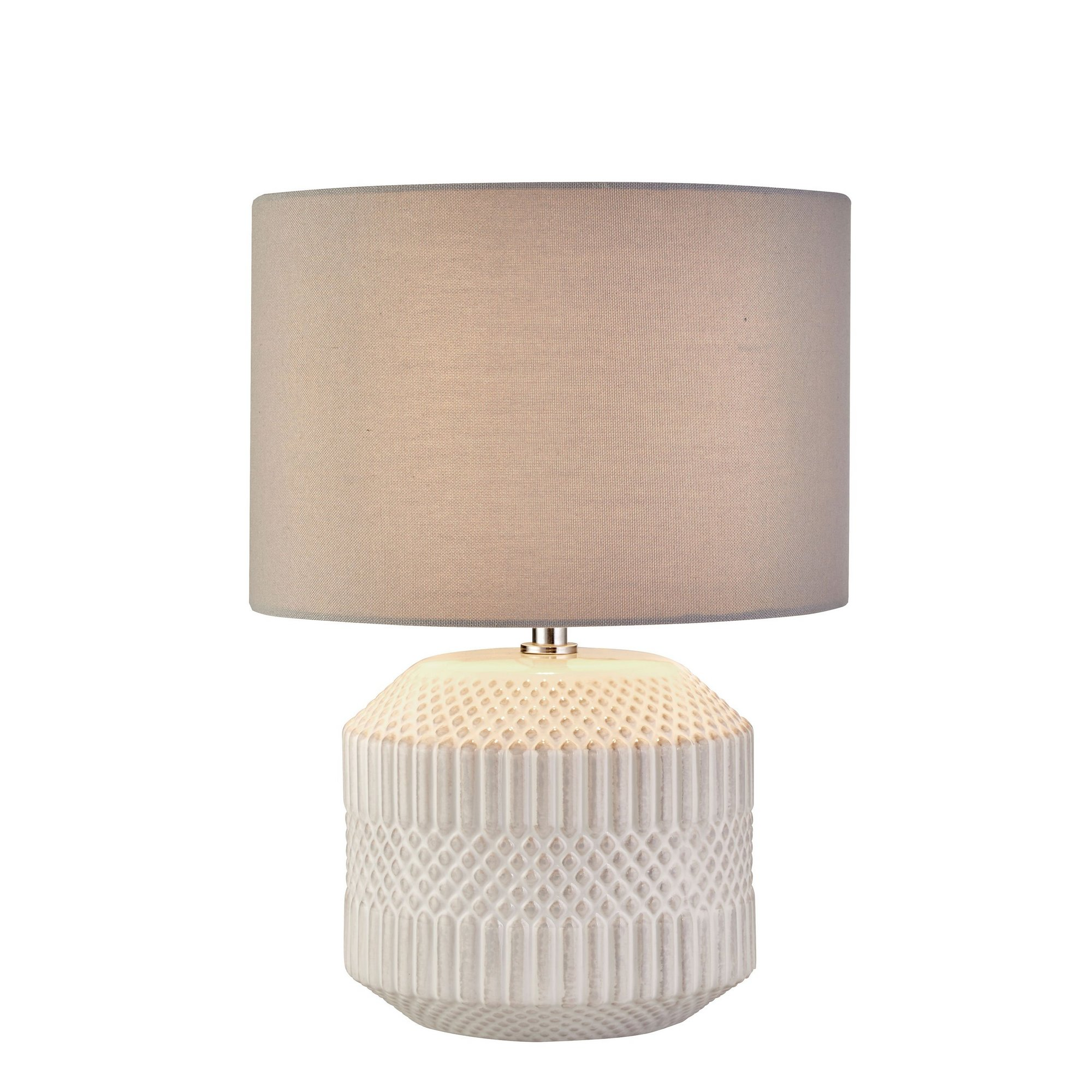 Image of Anders Textured Ceramic Table Lamp