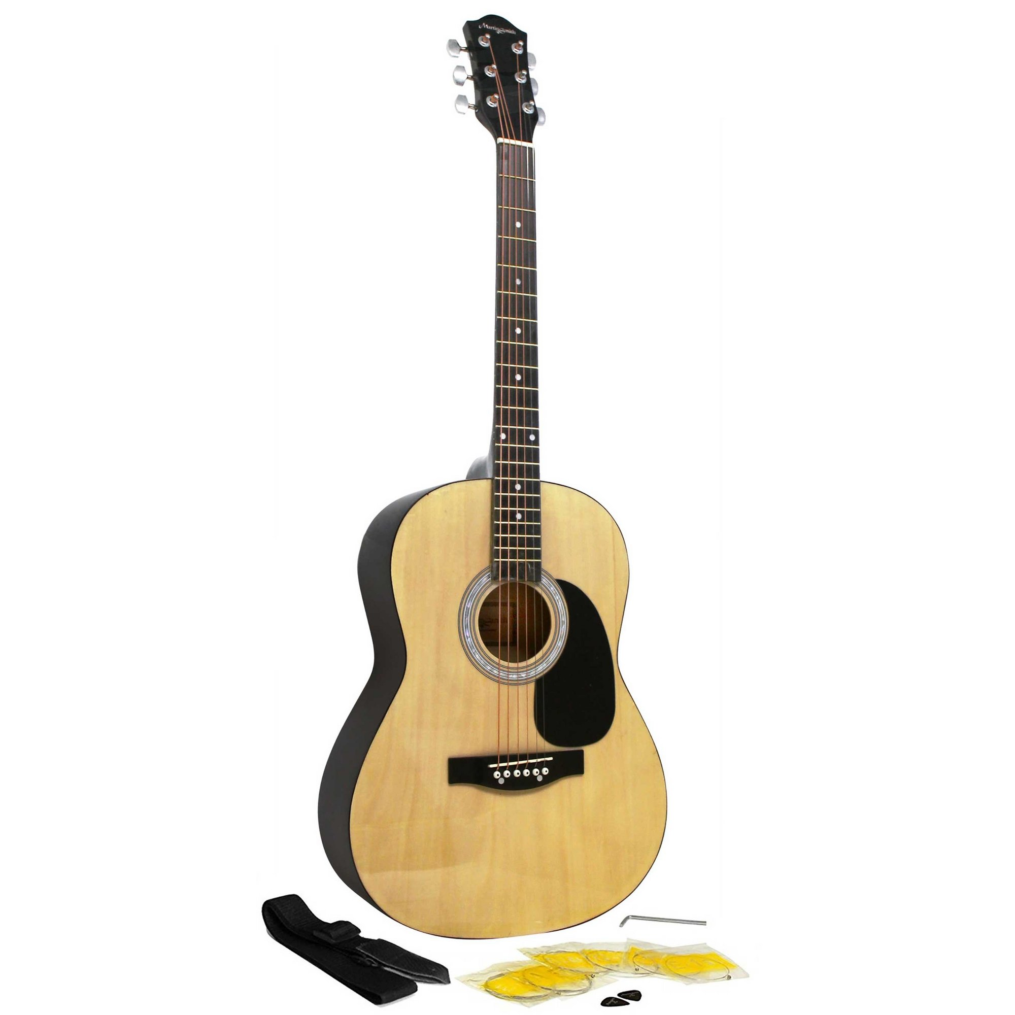 Image of Martin Smith Natural Full Size Guitar