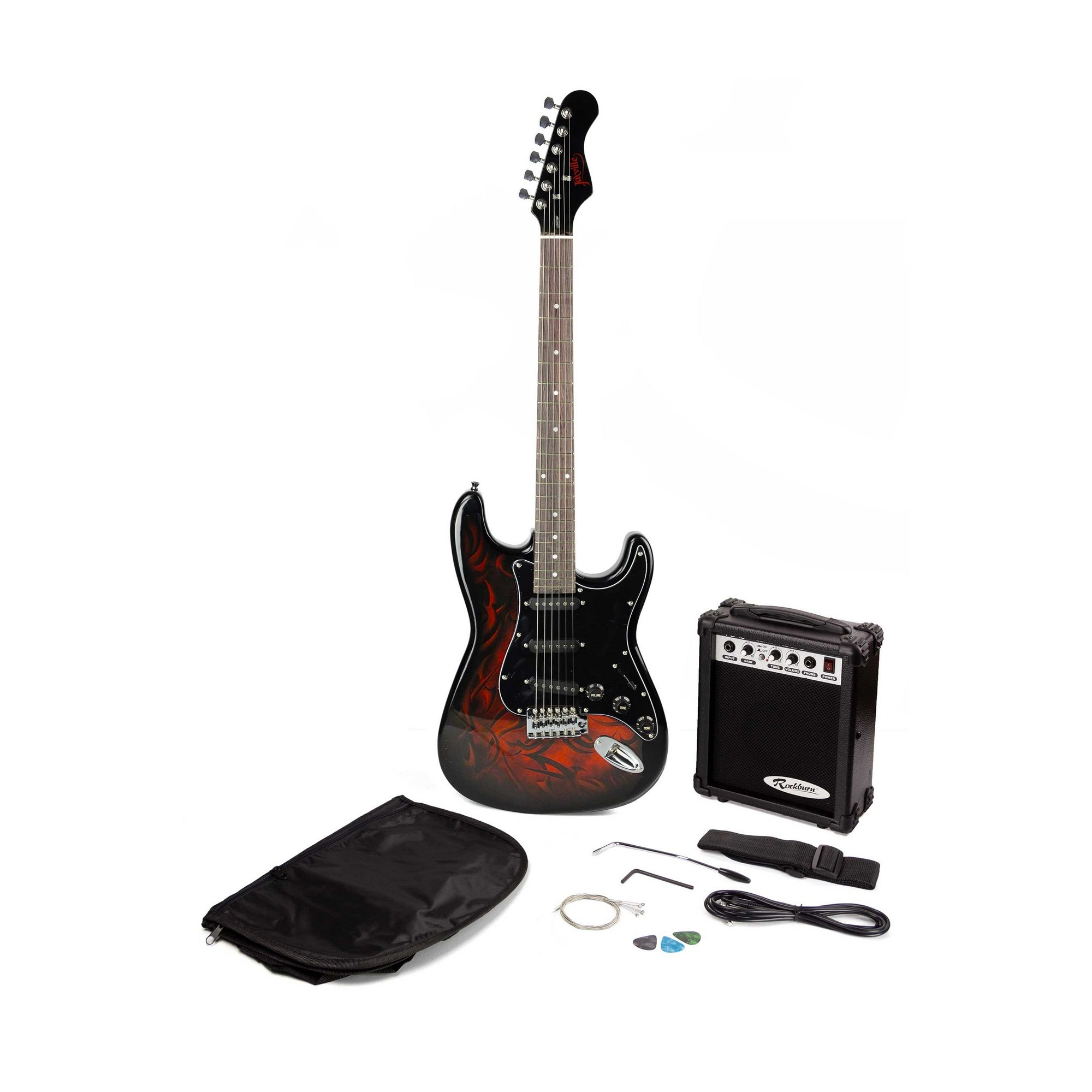 Image of Jaxville Demon St Style Electric Guitar