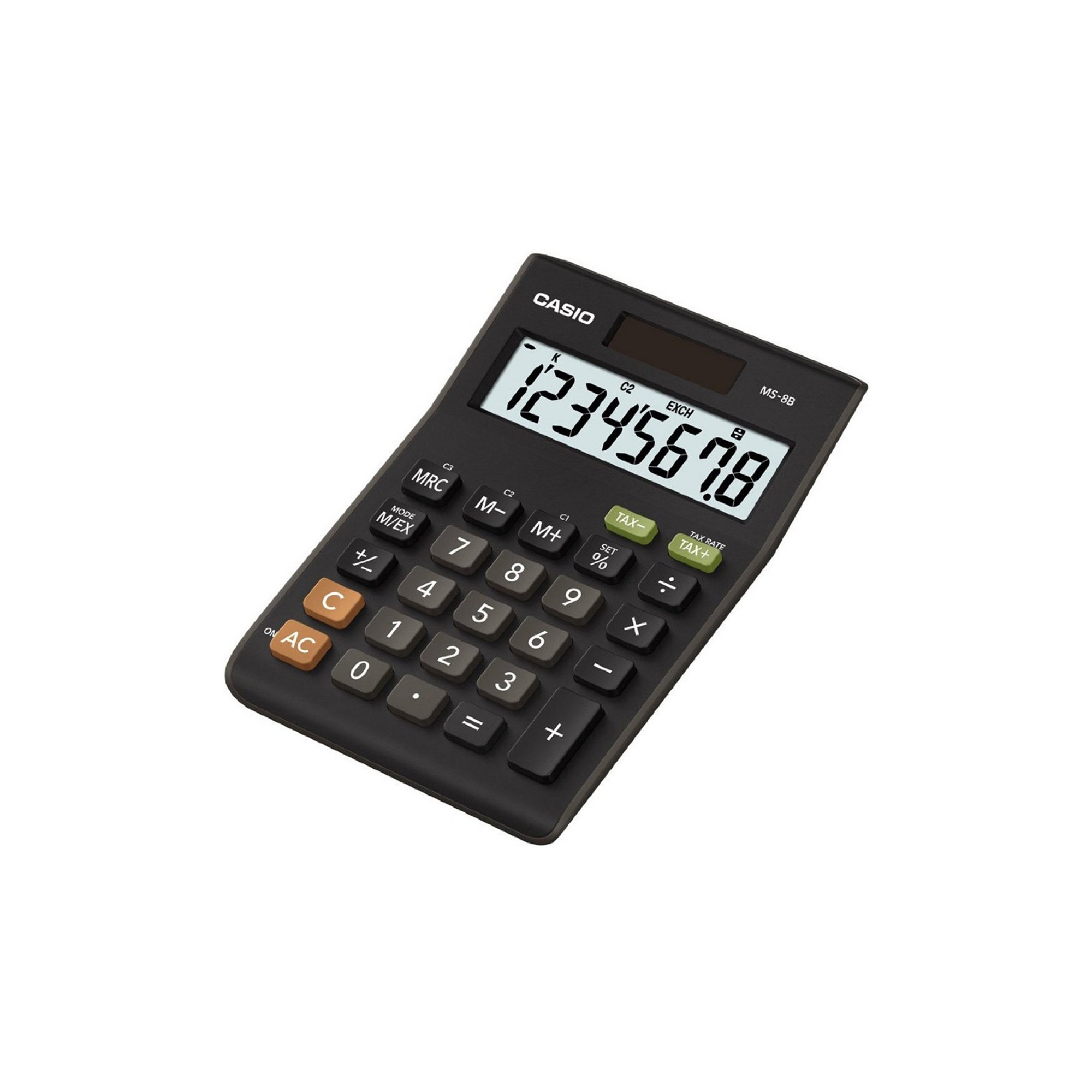 Image of Casio MS8BS Desk Calculator with Tax Calculations