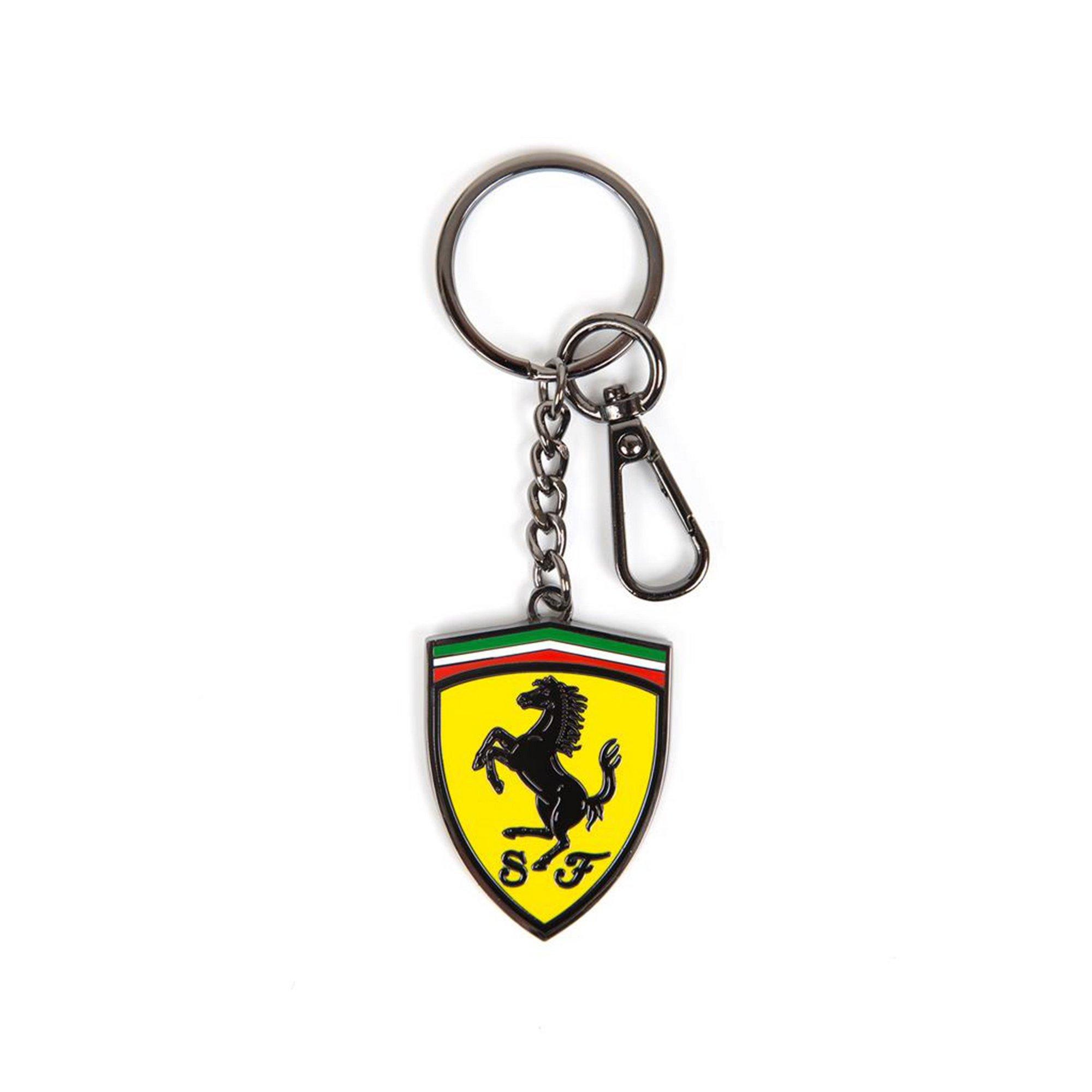Image of Ferrari F1 Metal Shield Keyring