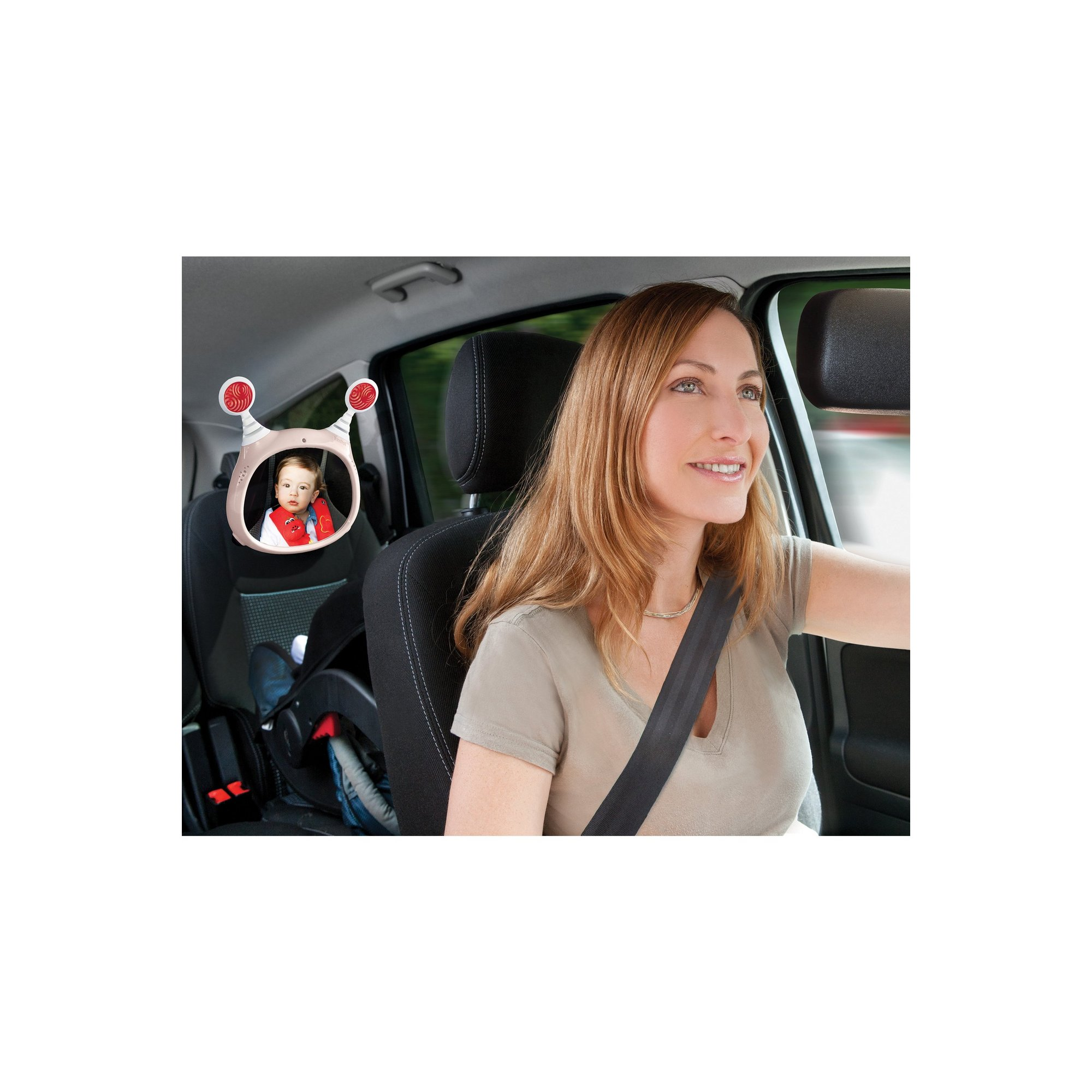 Image of Benbat Oly Car Mirror - Beige