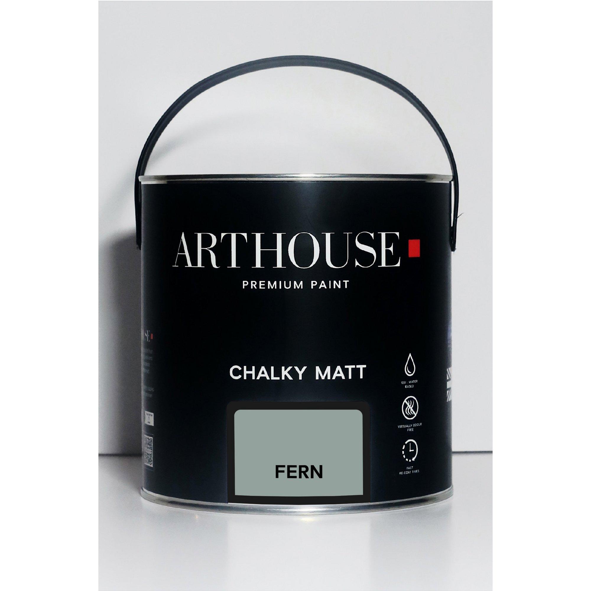 Image of Chalky Matt Fern Emulsion Paint