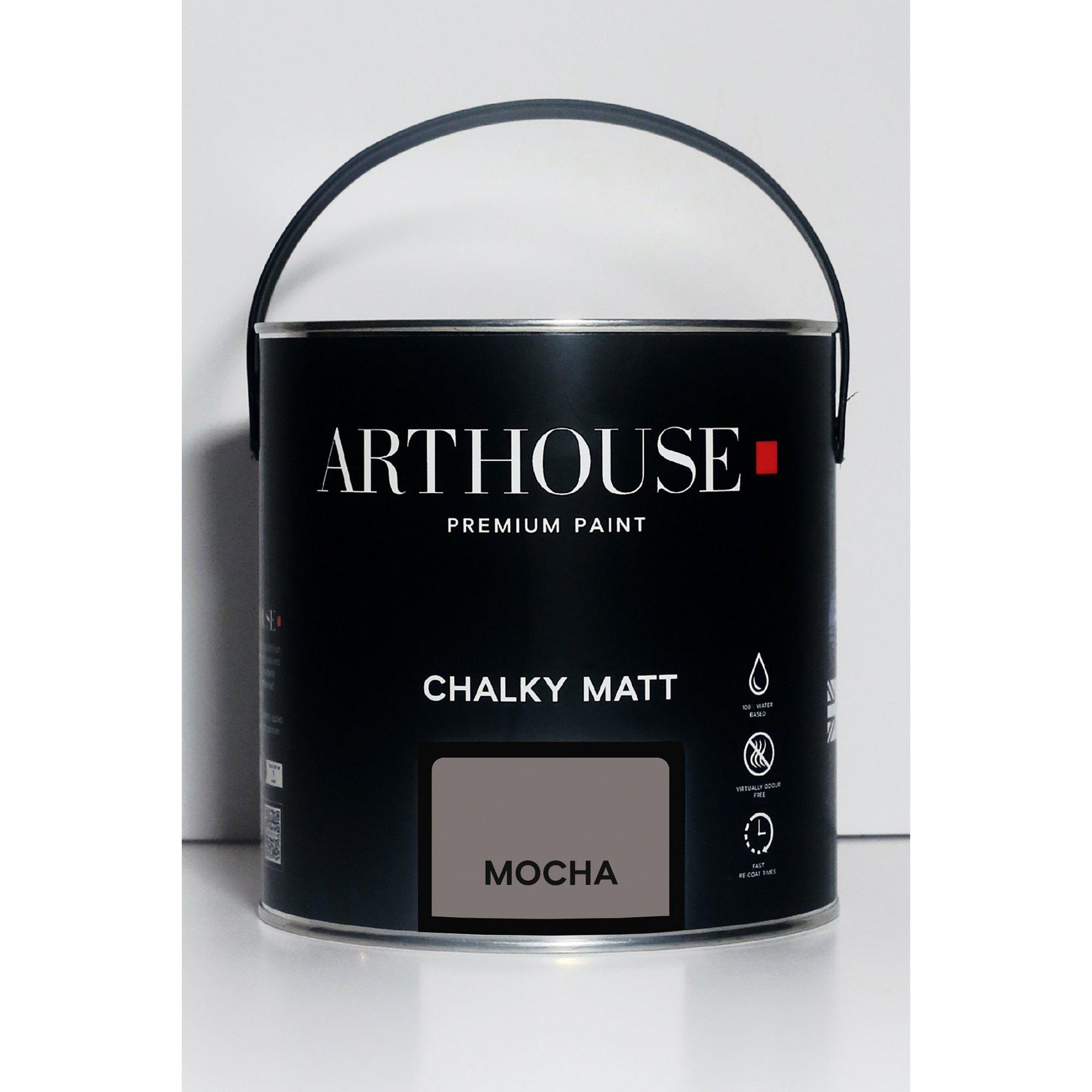 Image of Chalky Matt Mocha Emulsion Paint