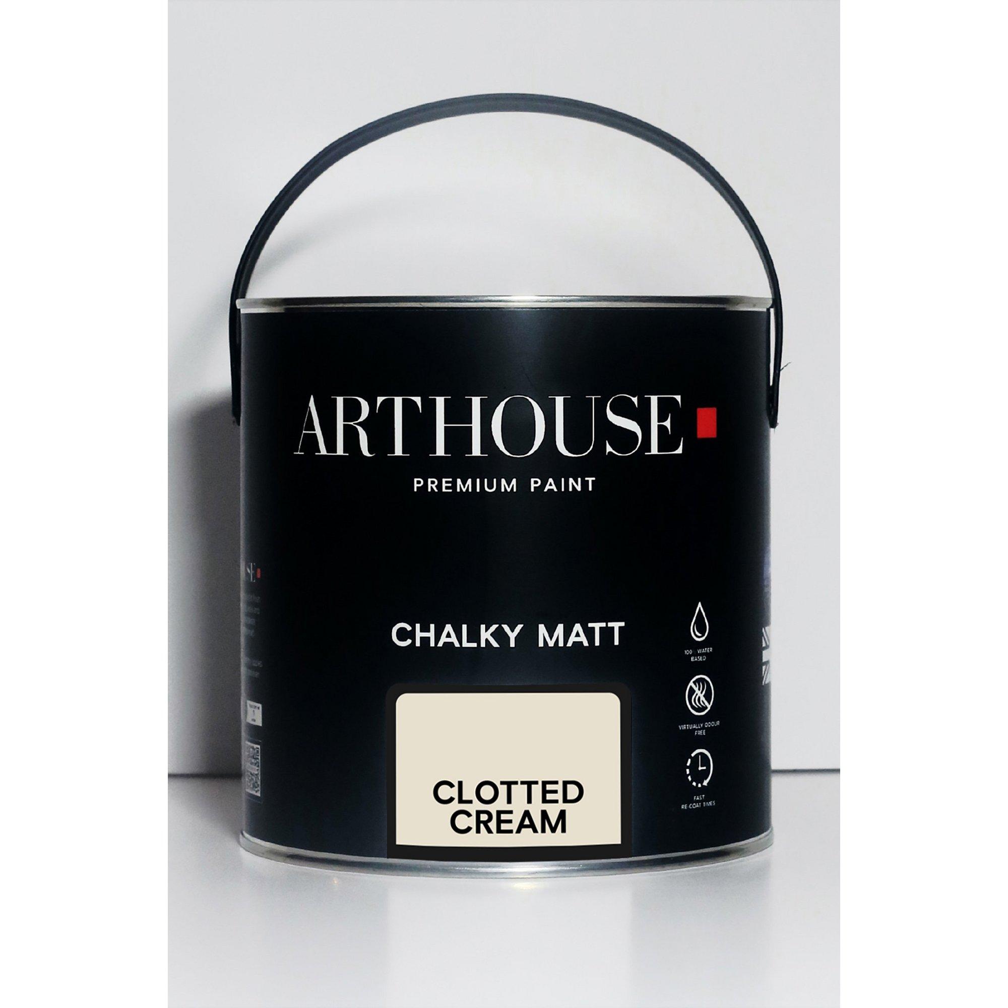 Image of Chalky Matt Clotted Cream Emulsion Paint