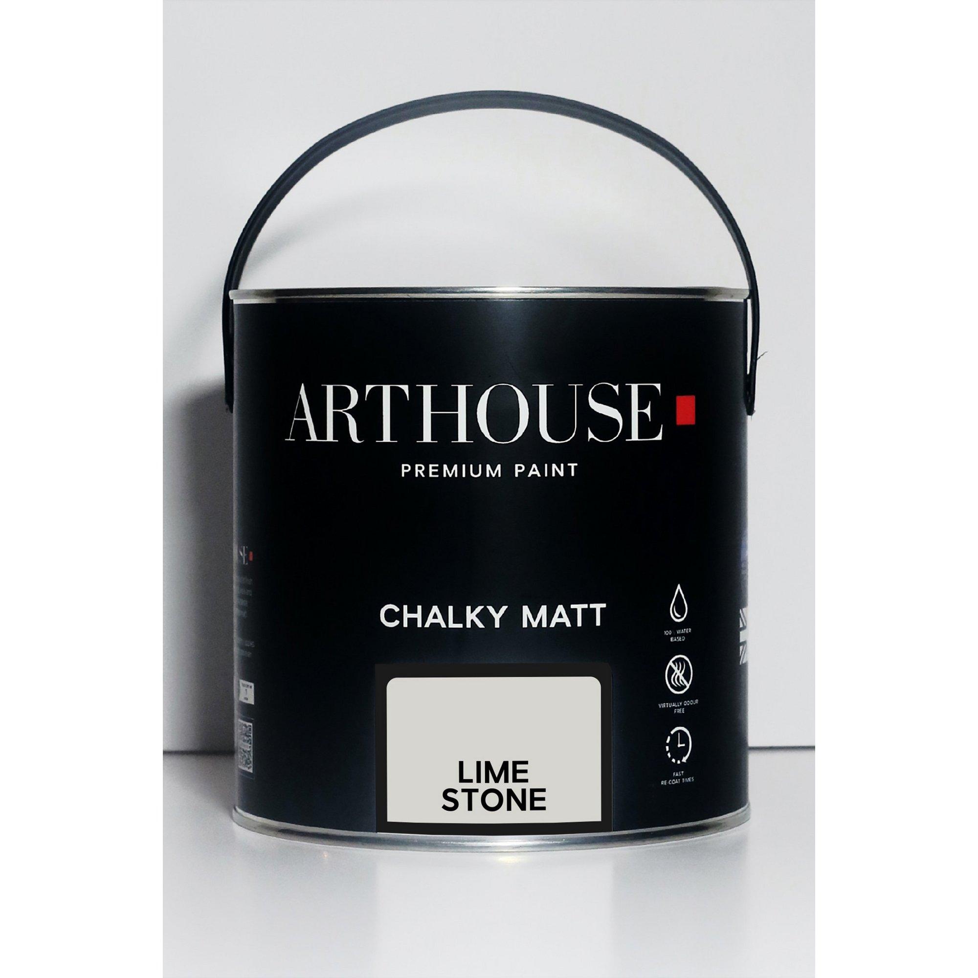 Image of Chalky Matt Limestone Emulsion Paint