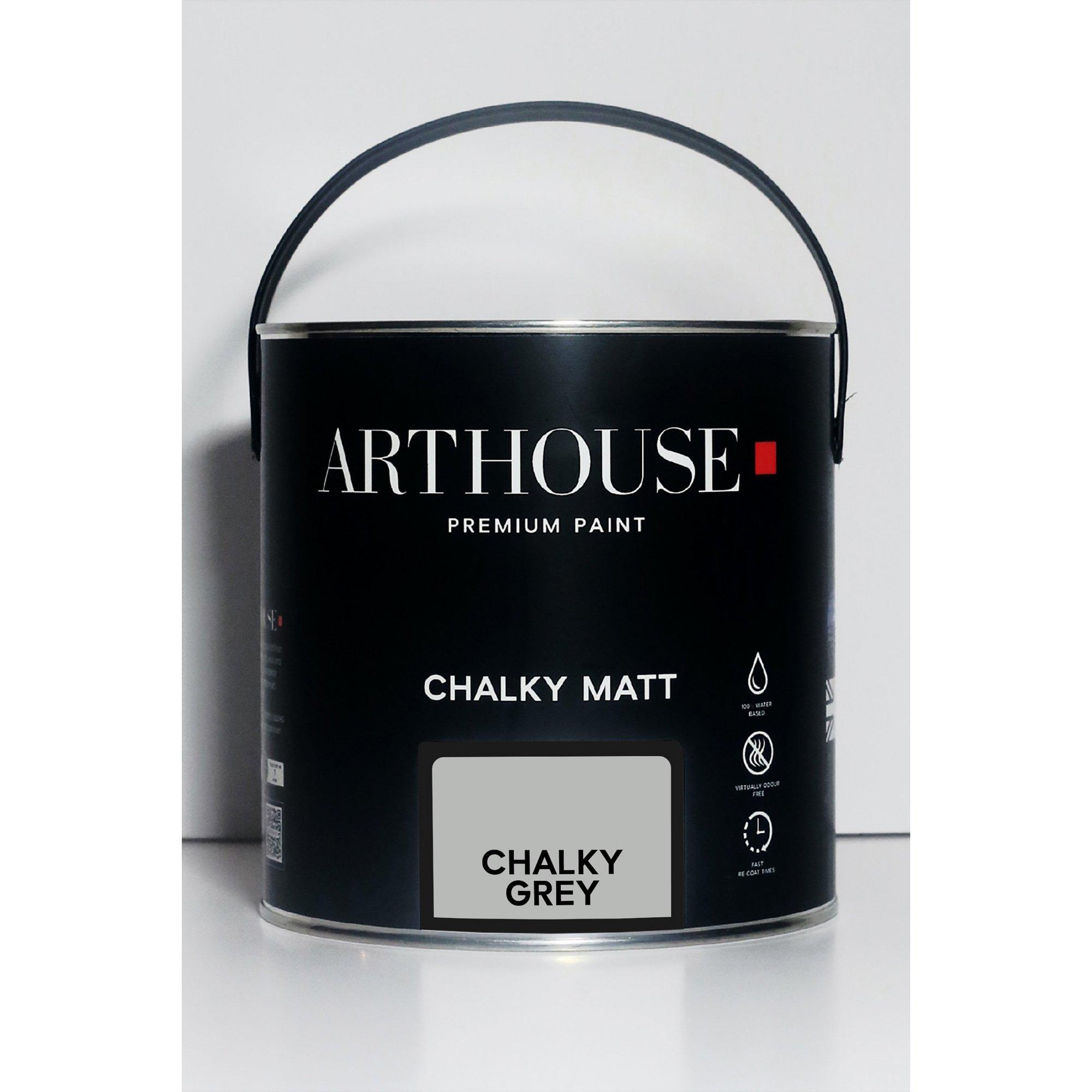 Image of Chalky Matt Grey Emulsion Paint