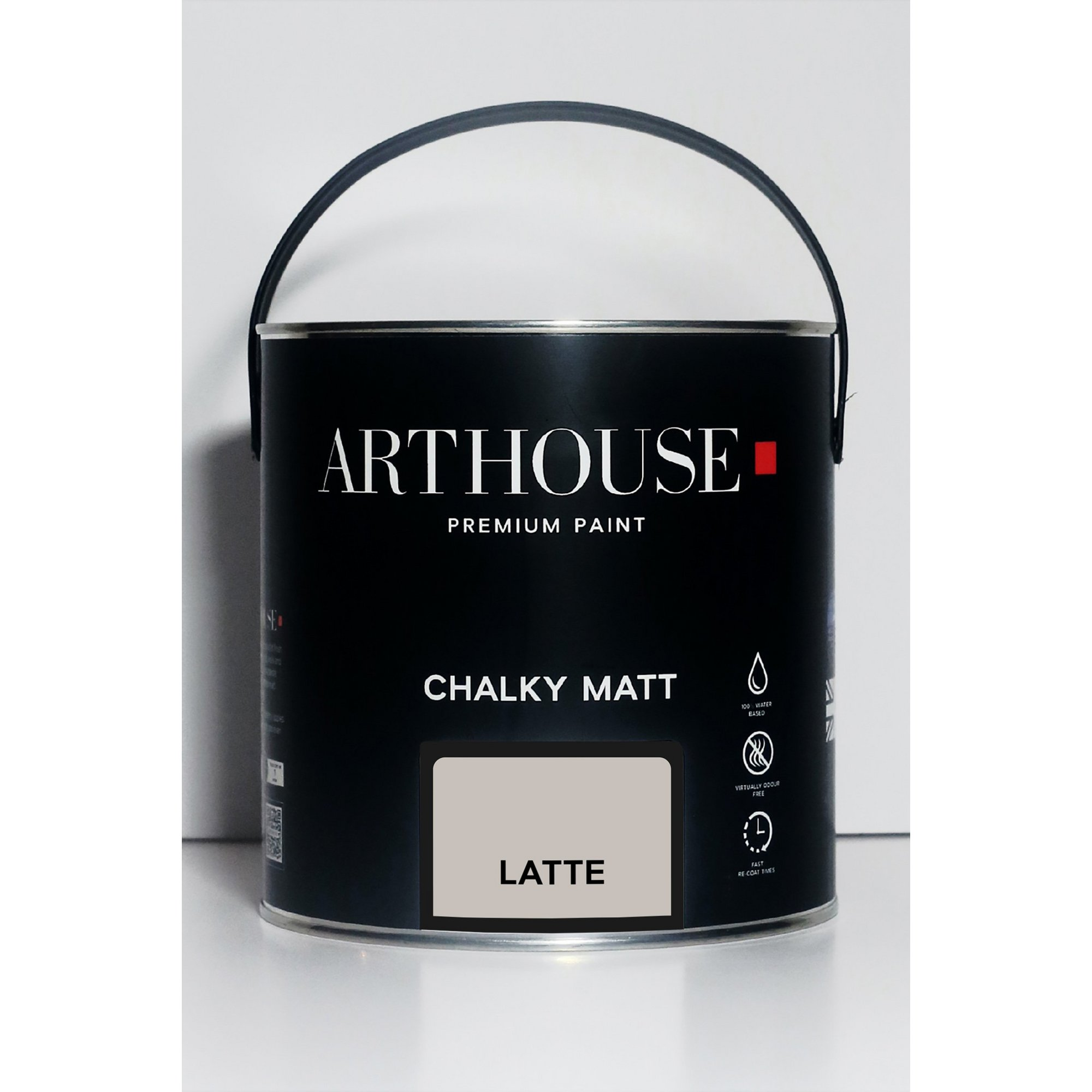 Image of Chalky Matt Latte Emulsion Paint