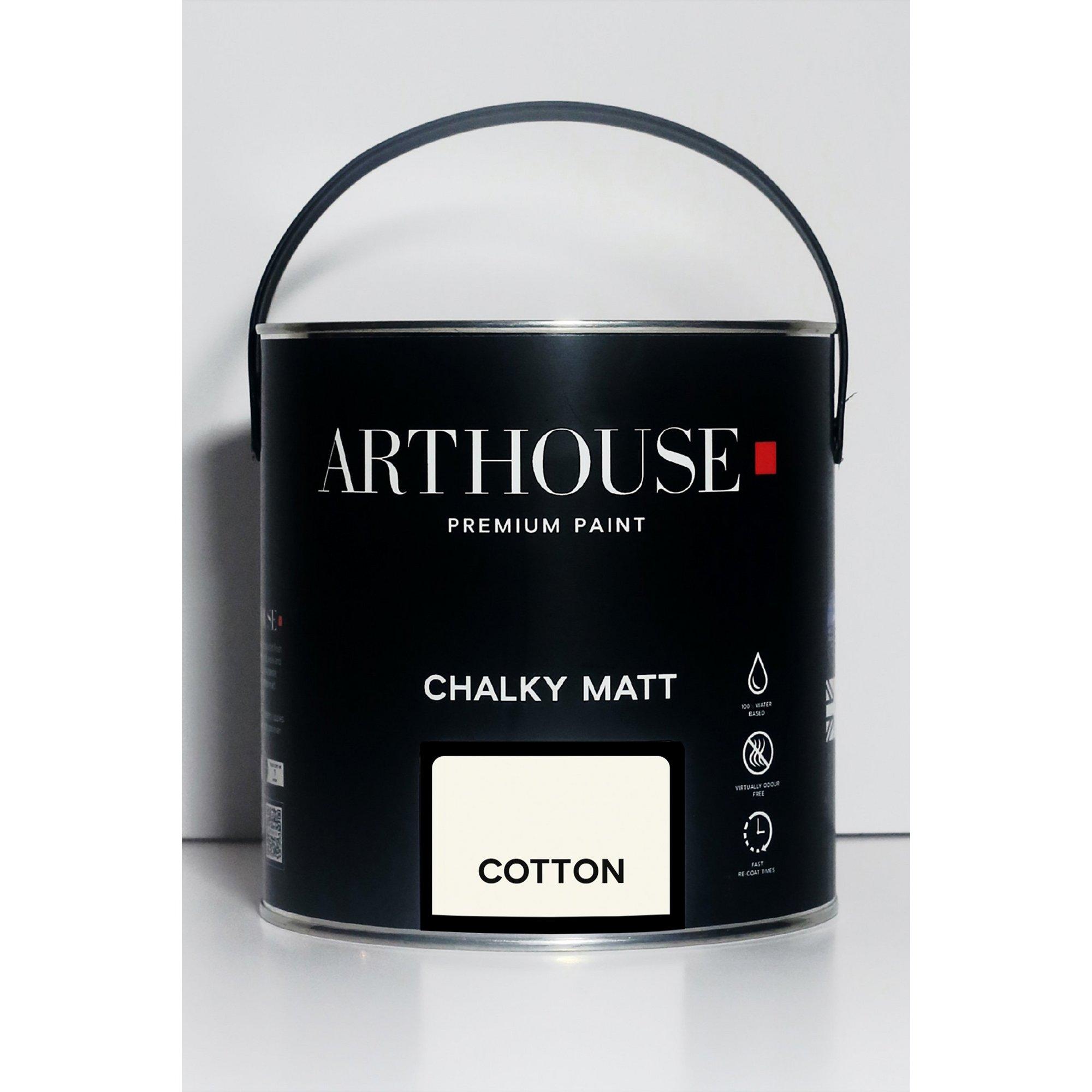 Image of Chalky Matt Cotton Emulsion Paint