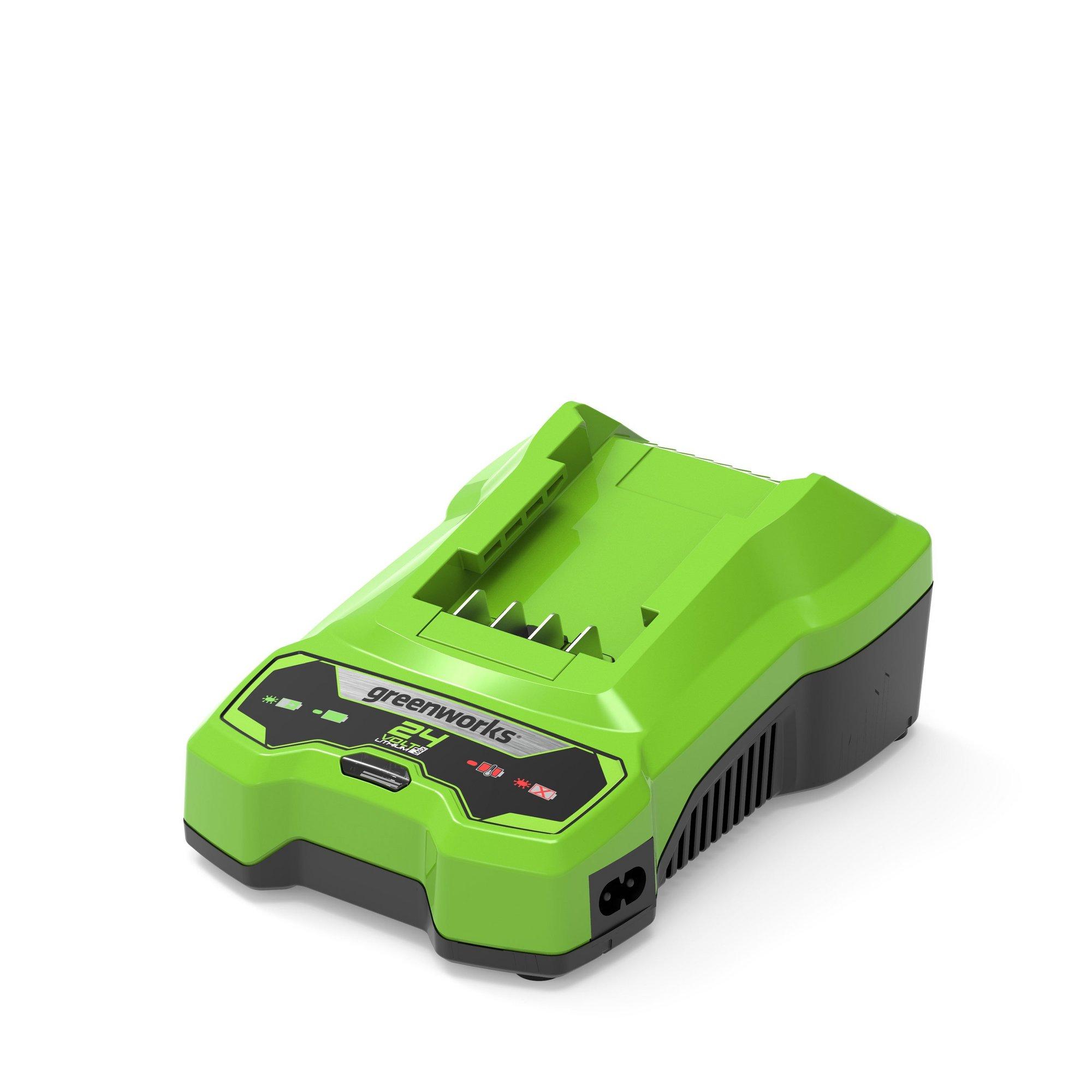 Image of Greenworks 24V 60min Battery Charger