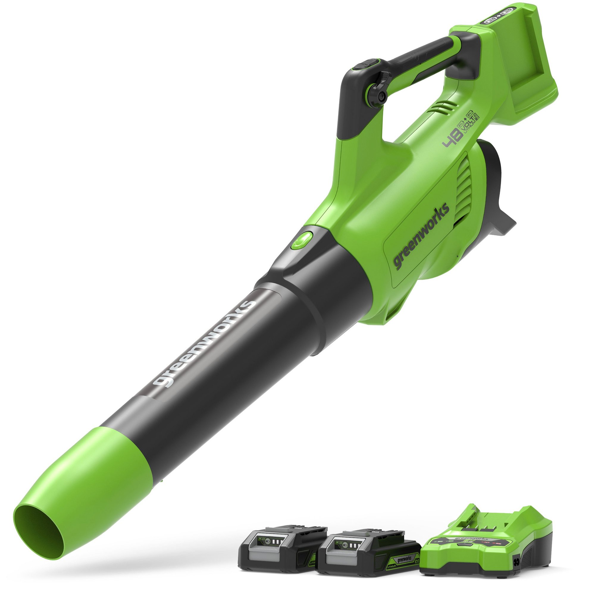 Image of Greenworks 48V Cordless Variable Speed Axial Blower with 2 x 24V ...