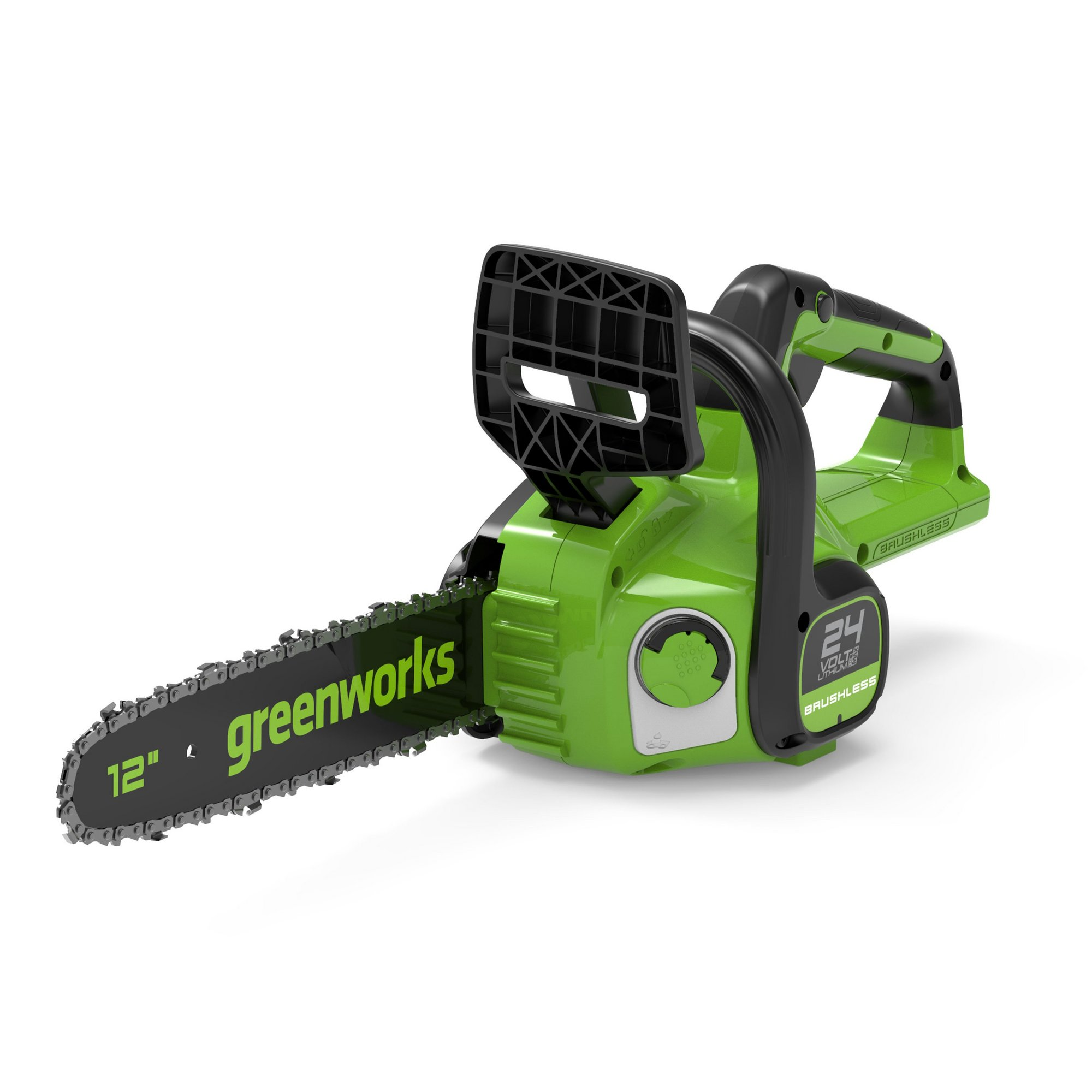 Image of Greenworks 24V Cordless 30cm Brushless Chainsaw (Tool Only)