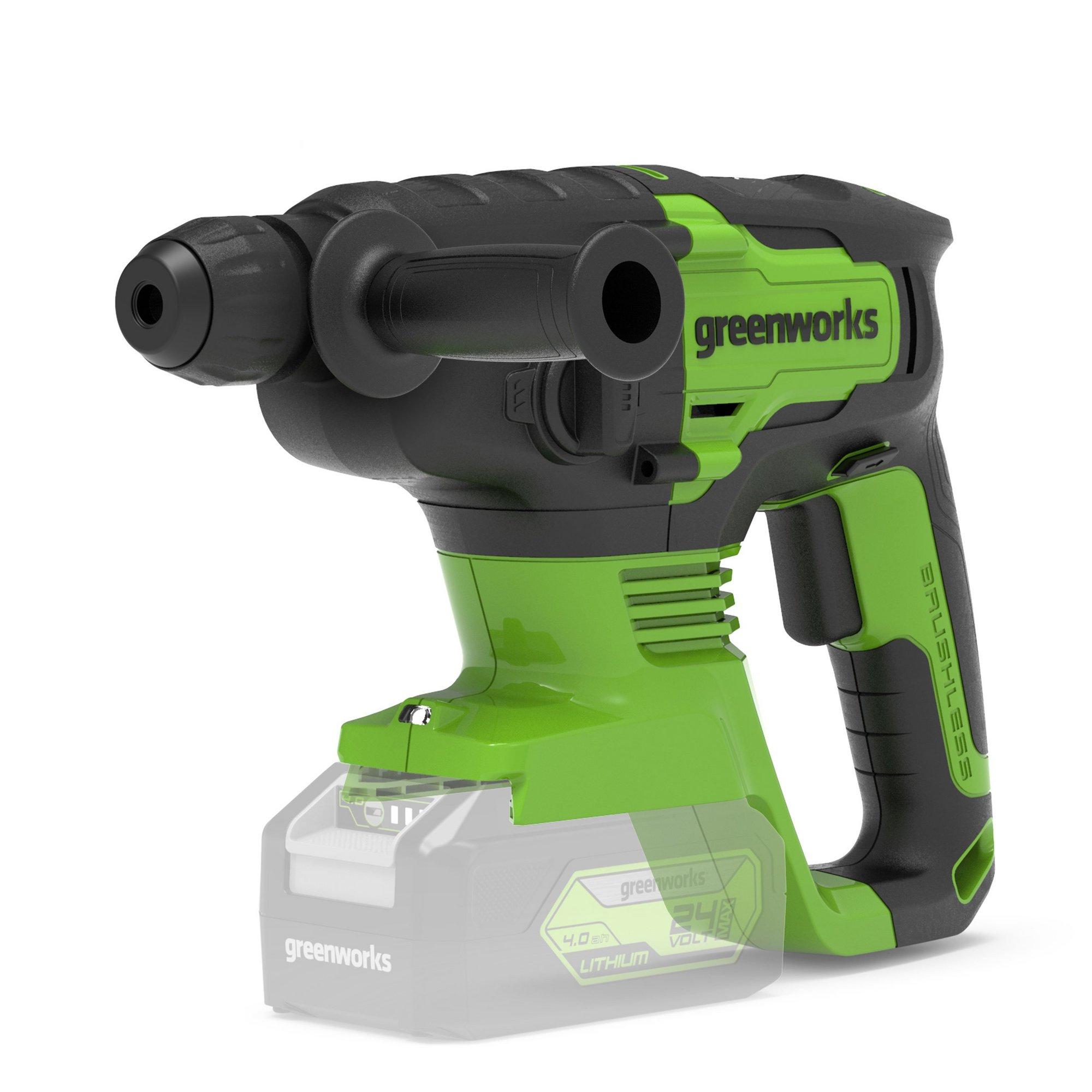 Image of Greenworks 24V Brushless Hammer Drill 2J (Tool Only)