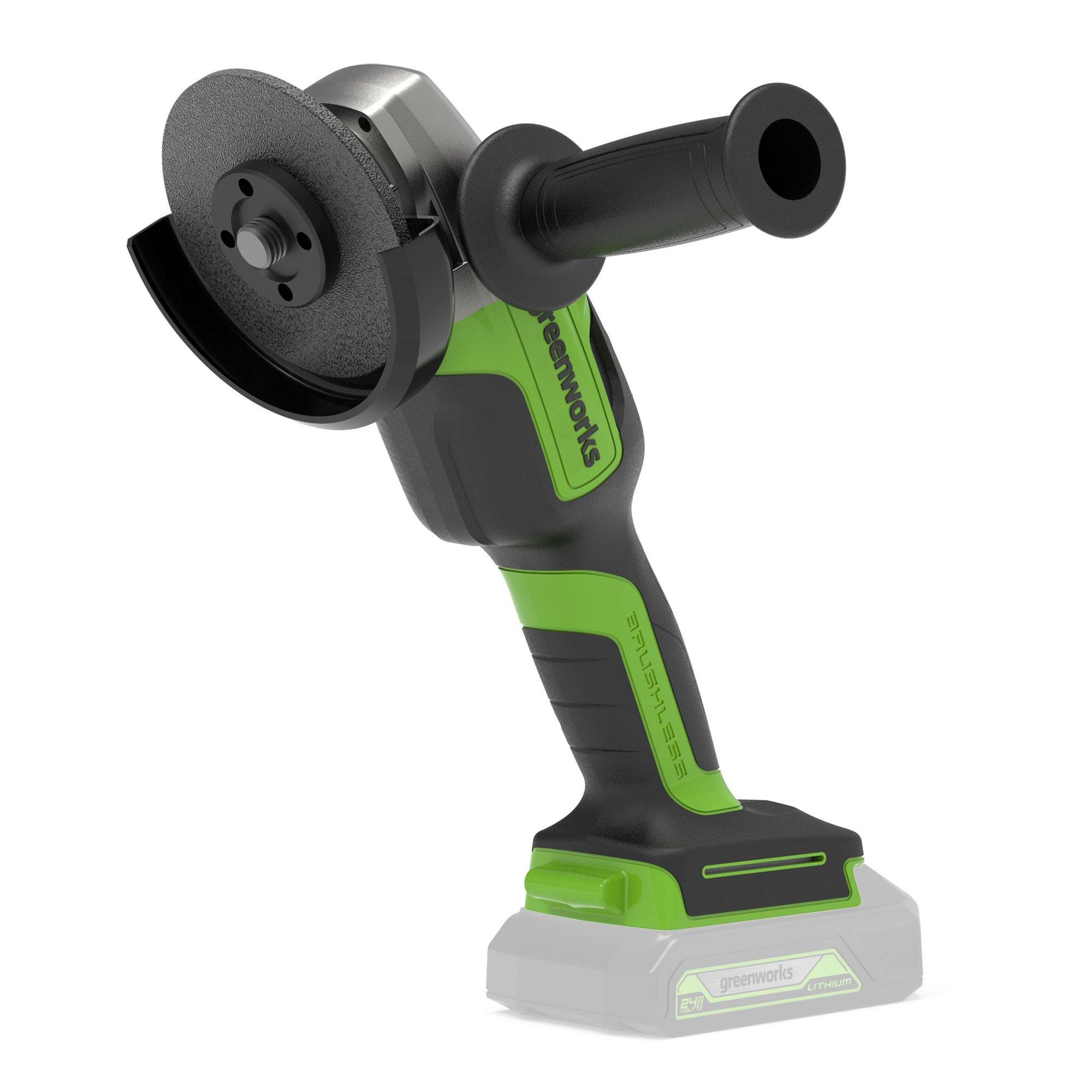 Image of Greenworks 24V Brushless Angle Grinder (Tool Only)
