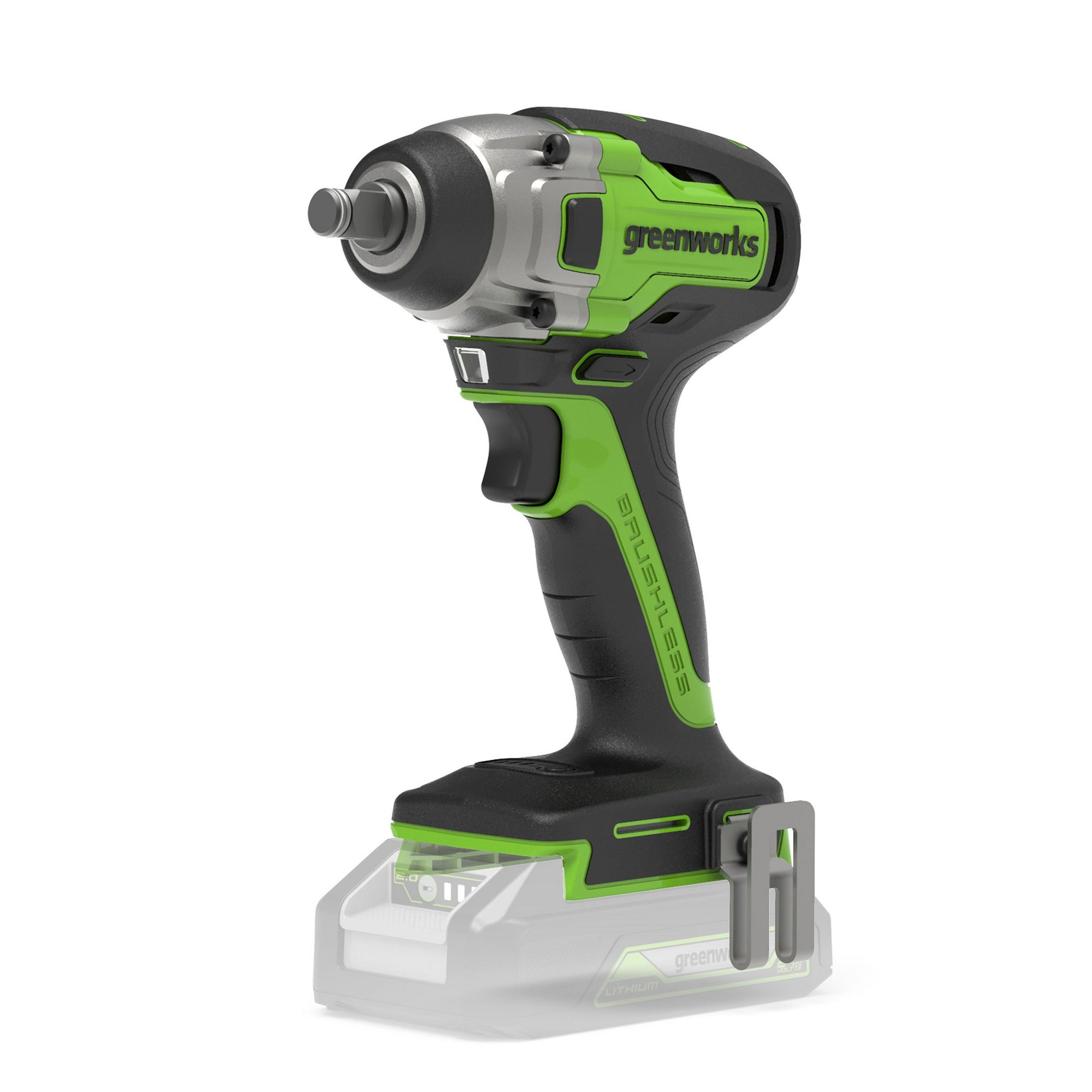 Image of Greenworks 24V Brushless Impact Wrench (Tool Only)