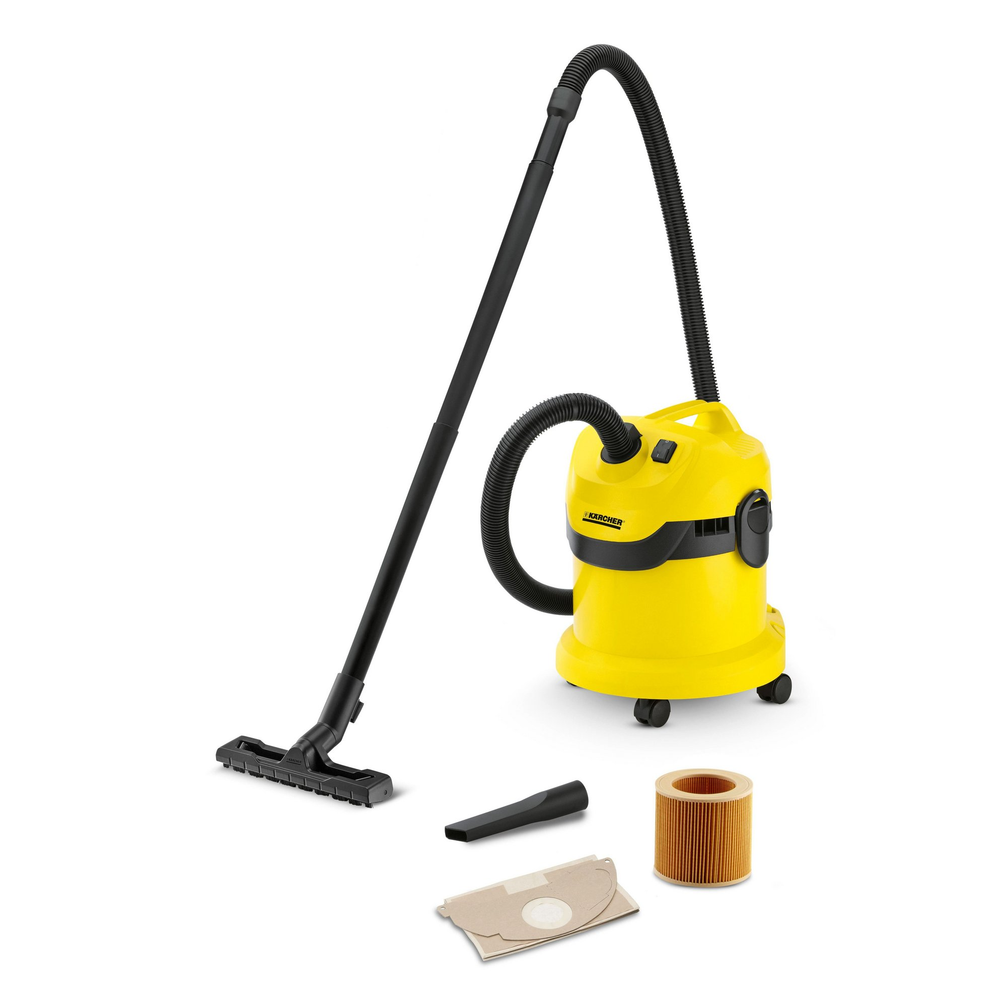 Image of Karcher WD2 Wet and Dry All-Purpose Vacuum