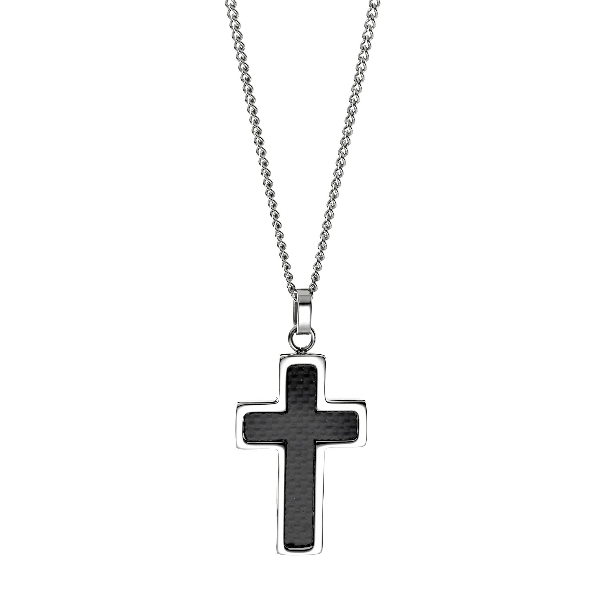 Image of Brave Soul Cross Pendant and Chain