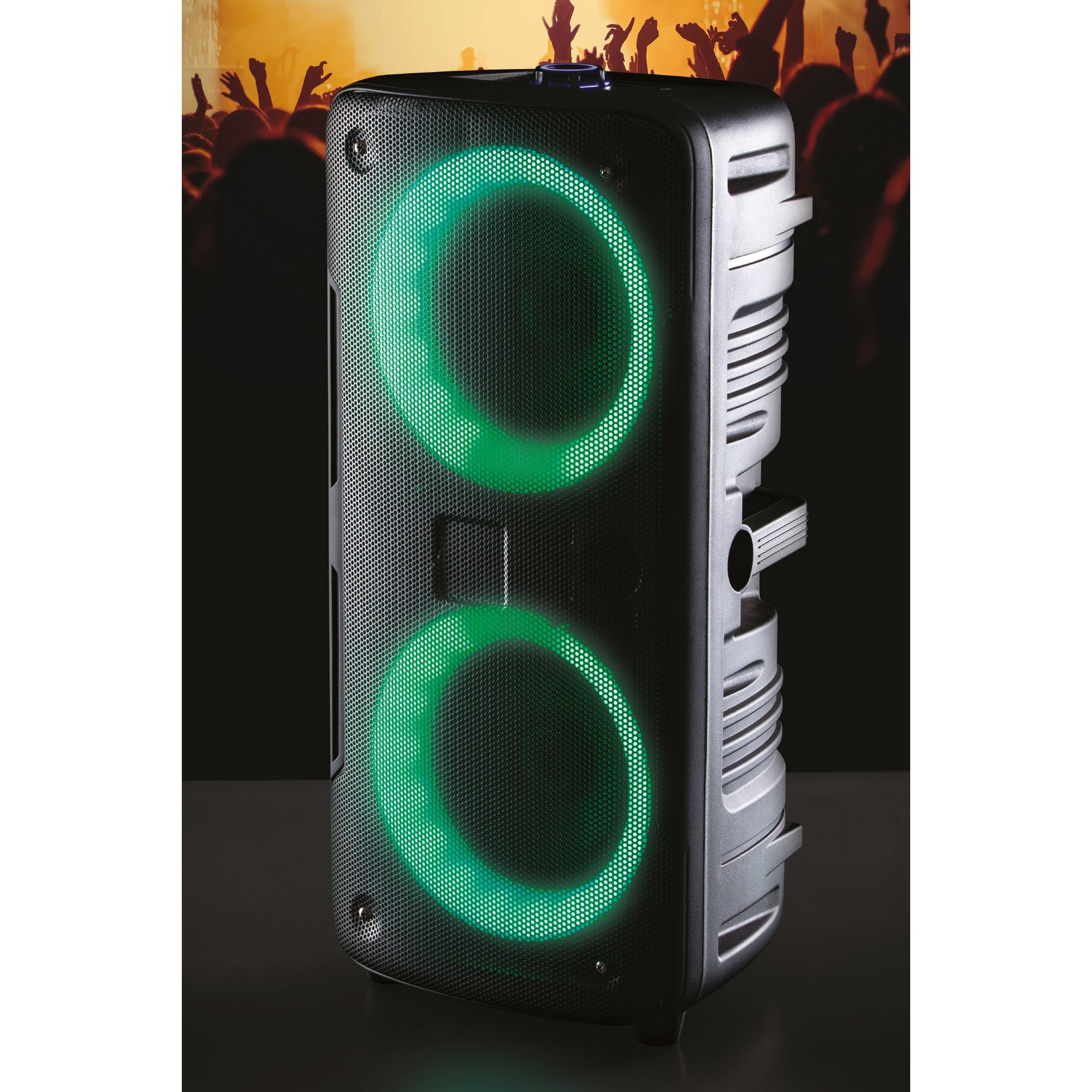 Image of Daewoo Double Light Bluetooth Party Speaker