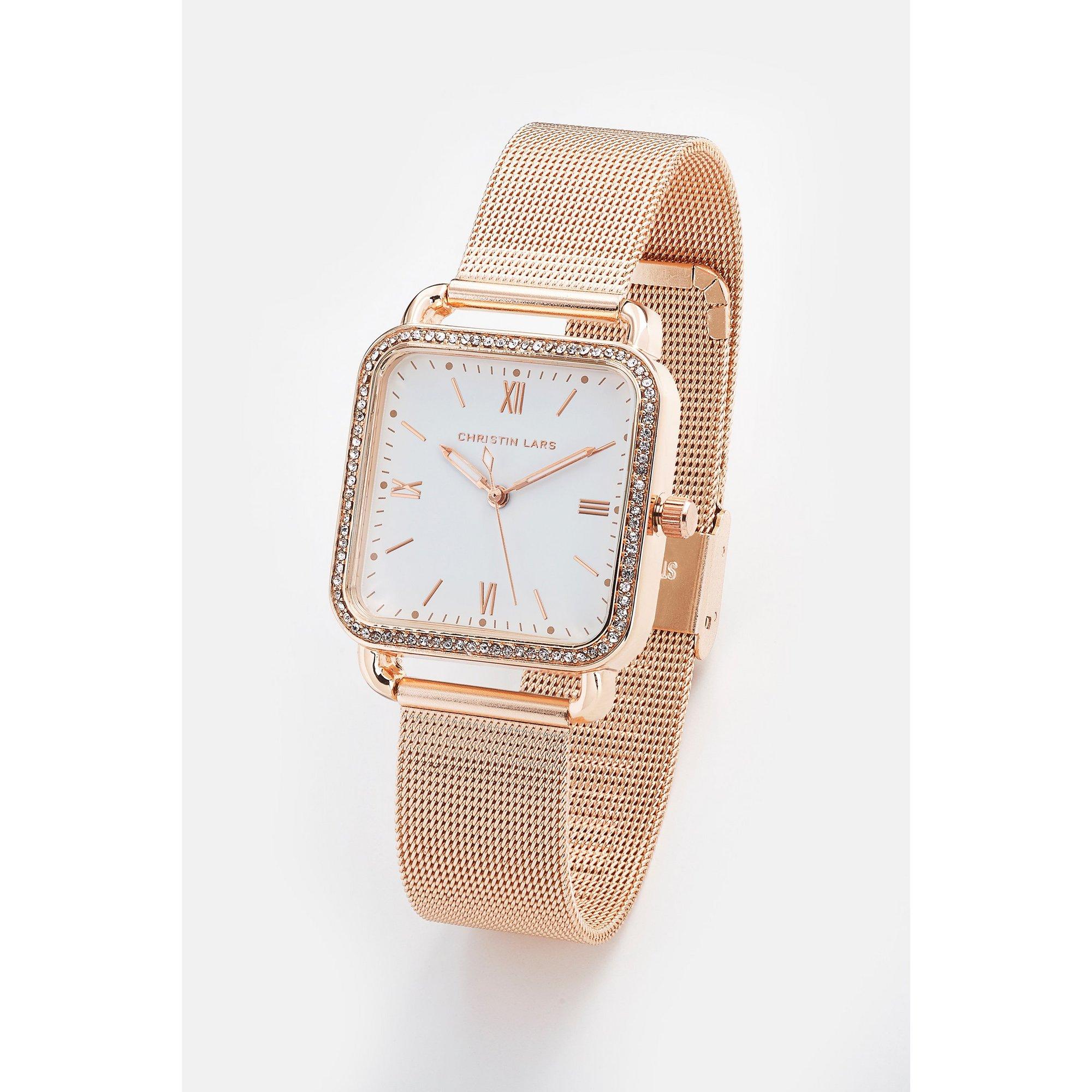 Image of Christin Lars Gold Tone Bracelet Watch