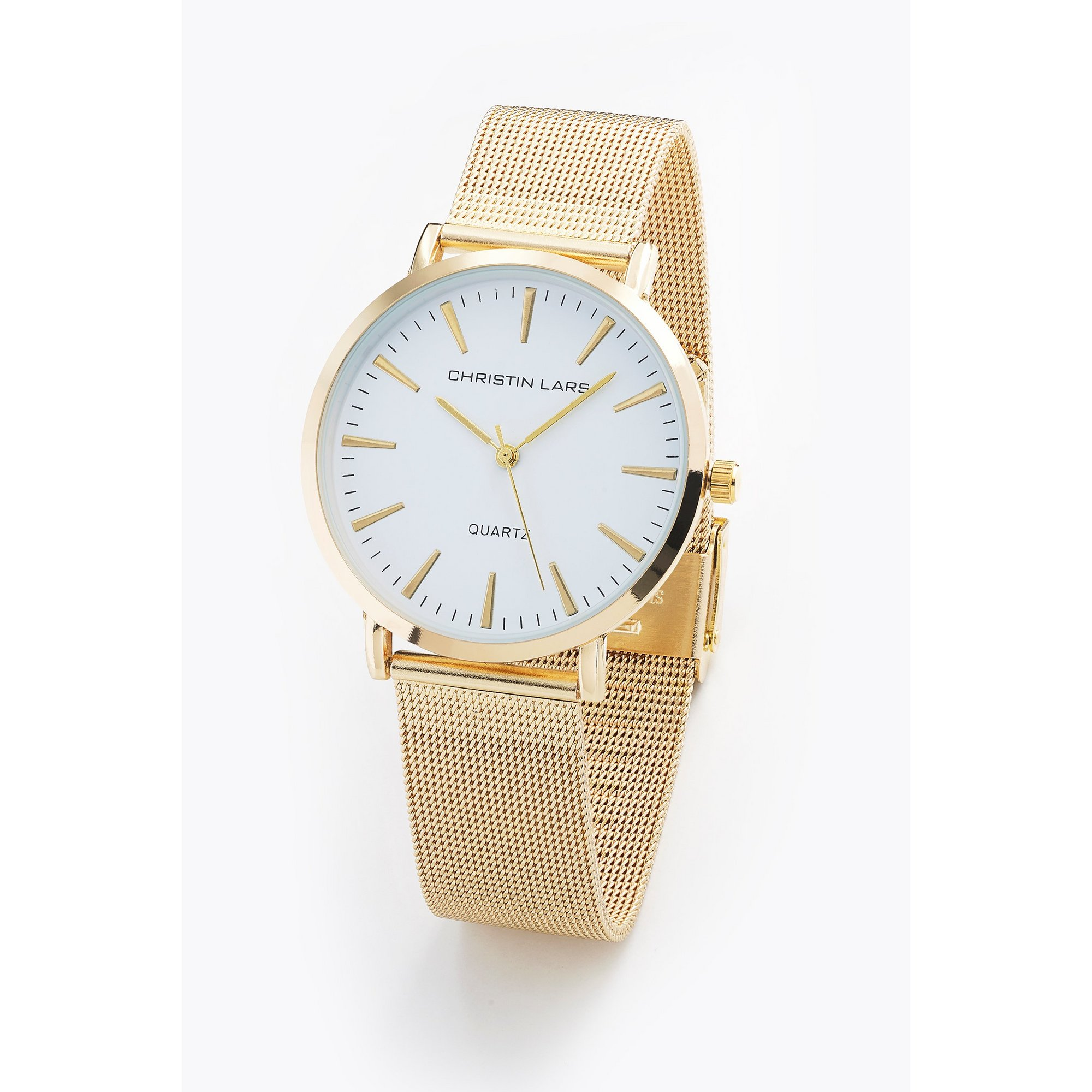 Image of Christin Lars Gents Gold Tone Bracelet Watch